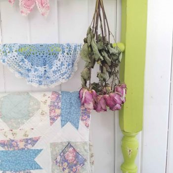 Quilt Rack from Upcycled Parts by Prodigal Pieces | prodigalpieces.com