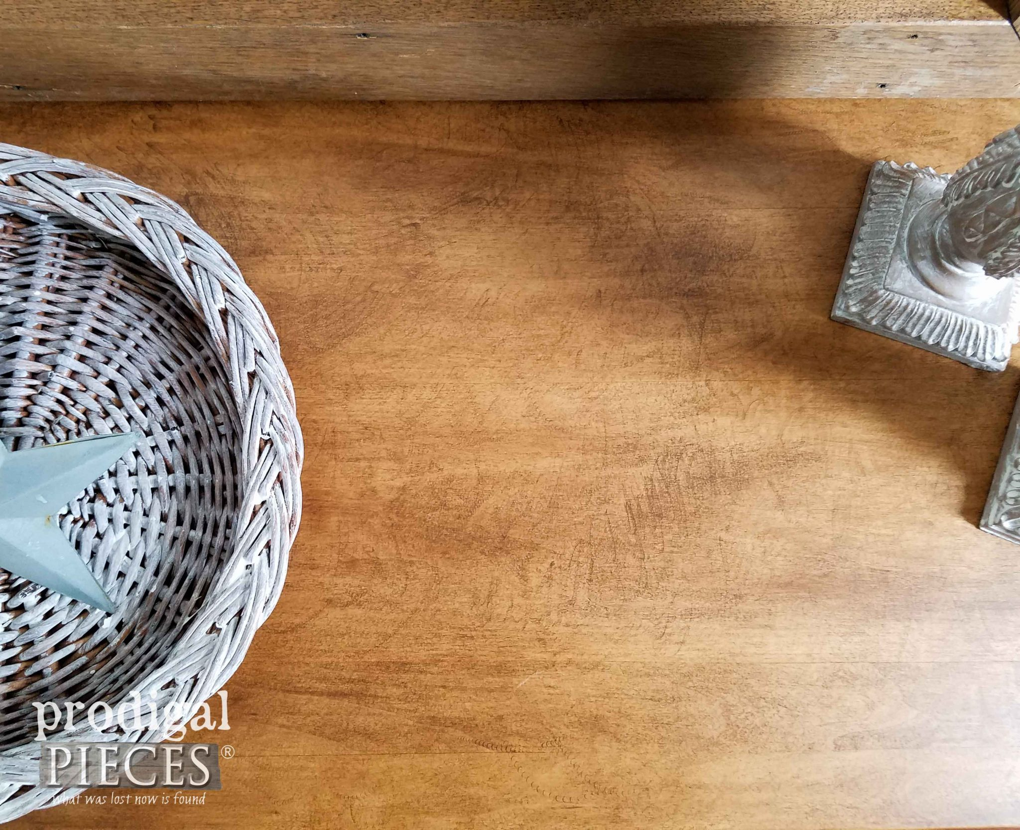 How to Get a Rustic Sawn Look on Furniture by Prodigal Pieces | prodigalpieces.com