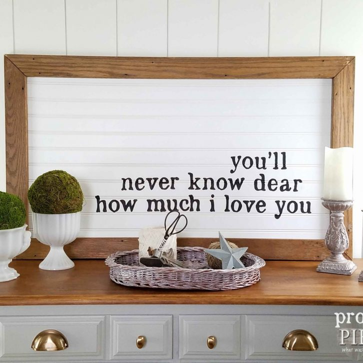 You are My Sunshine Wall Art by Prodigal Pieces | prodigalpieces.com