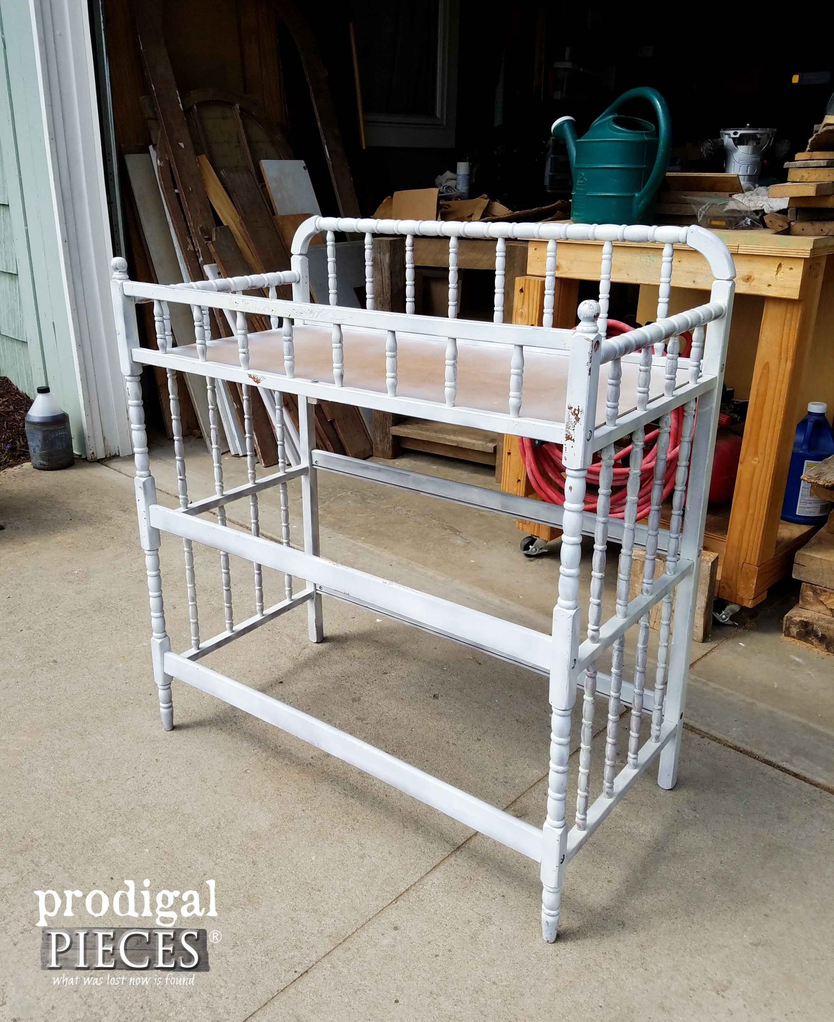 Curbside Changing Table Before Makeover | Prodigal Pieces | prodigalpieces.com