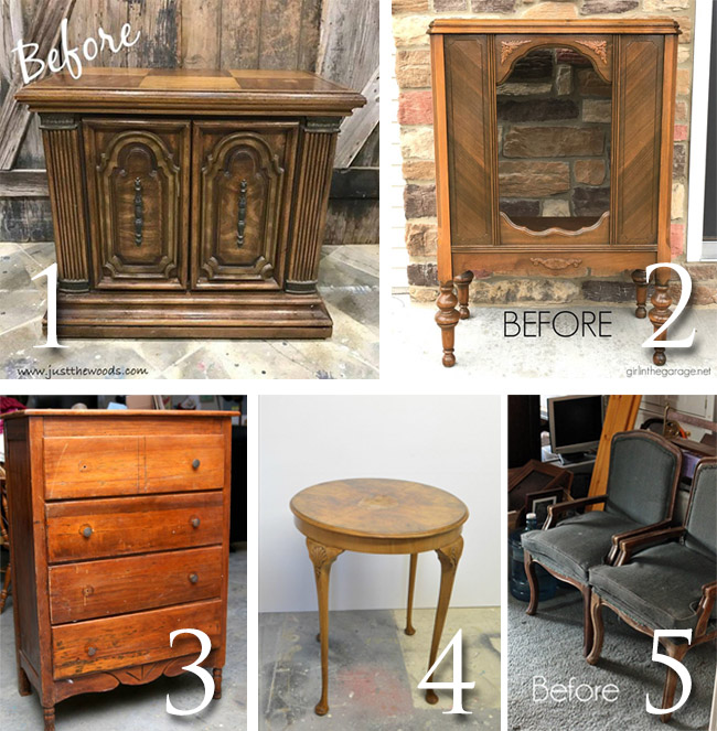 April Furniture Fixer Uppers at Prodigal Pieces | prodigalpieces.com