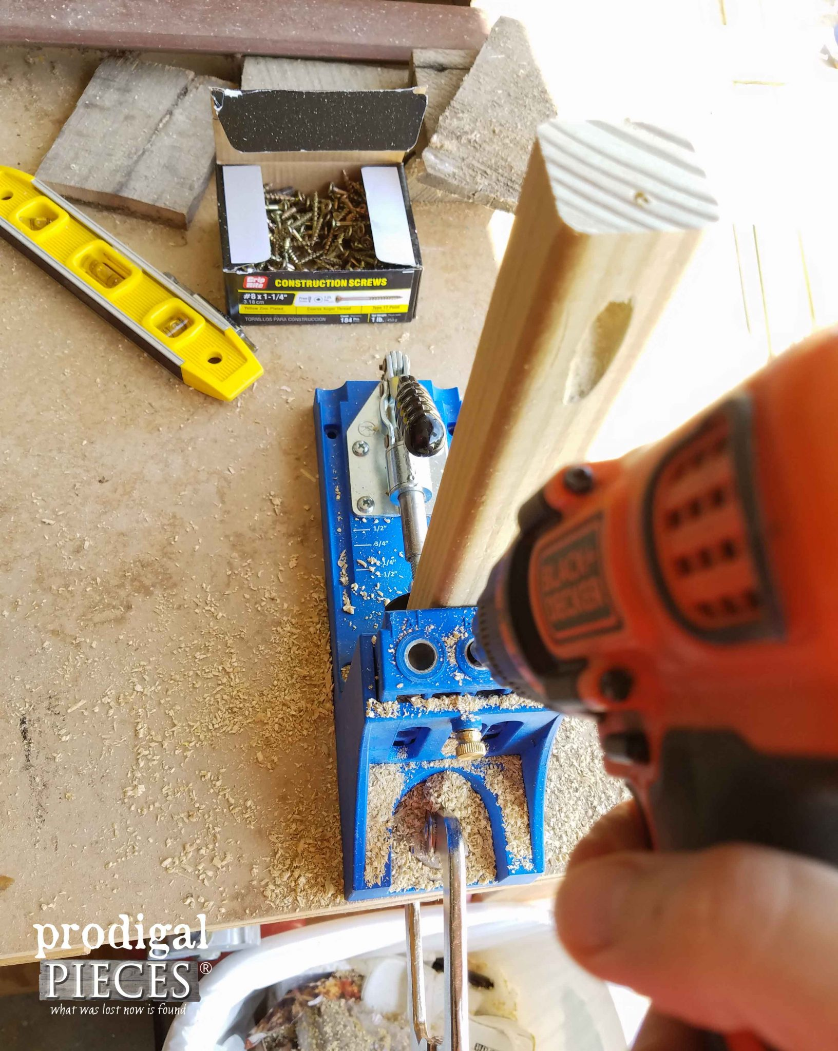 Using Kreg Jig to Make DIY Planter | Prodigal Pieces | prodigalpieces.com
