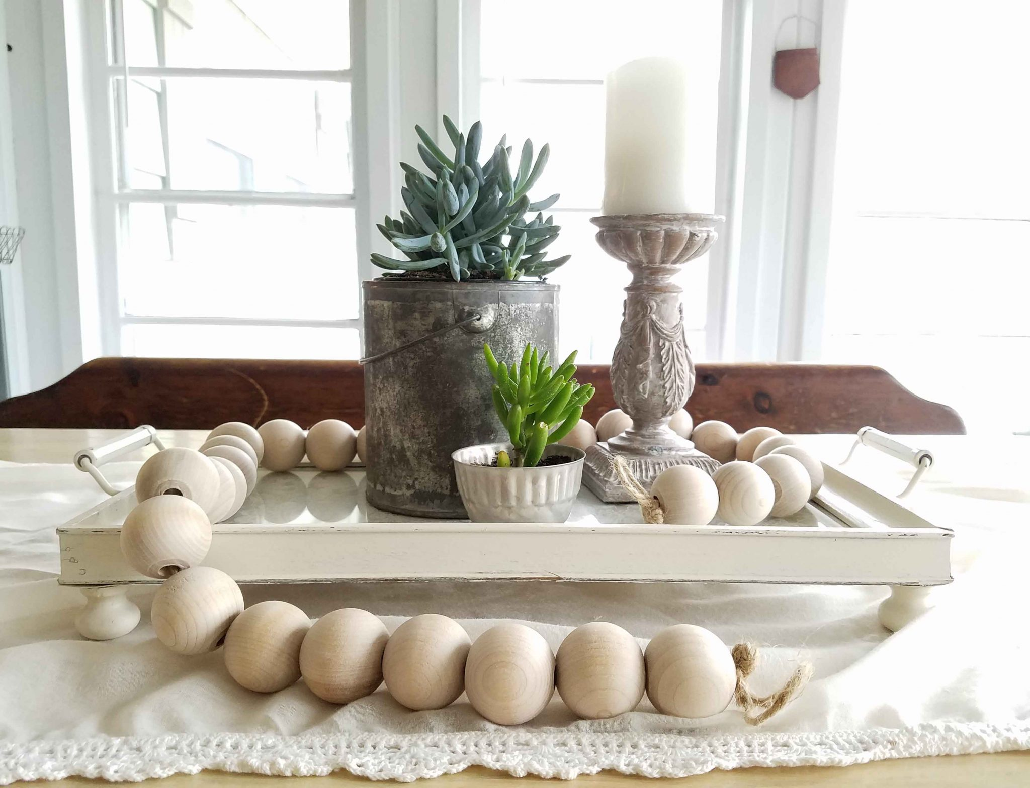 Thrifted Tray Makeover ~ Budget DIY Project - Prodigal Pieces