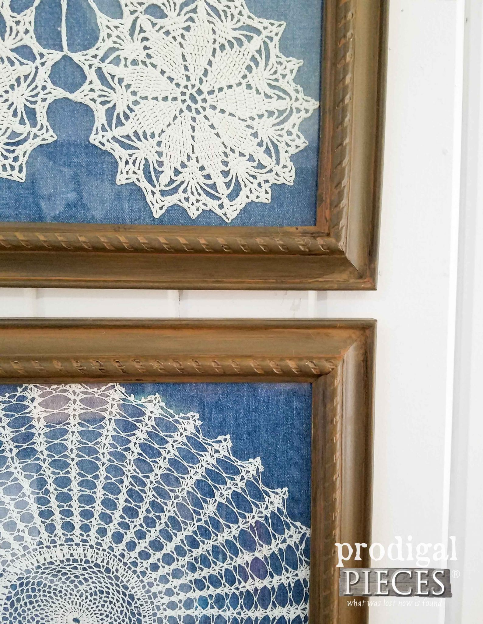 Framed Doily Closeup of Layers | Prodigal Pieces | prodigalpieces.com