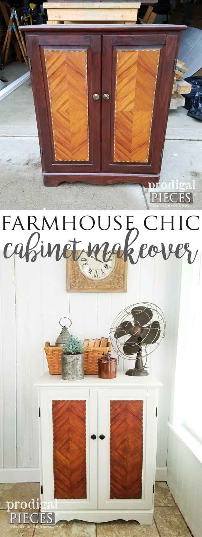 Get the Modern Farmhouse Chic Look with these Simple Steps Outlines by Prodigal Pieces | prodigalpieces.com
