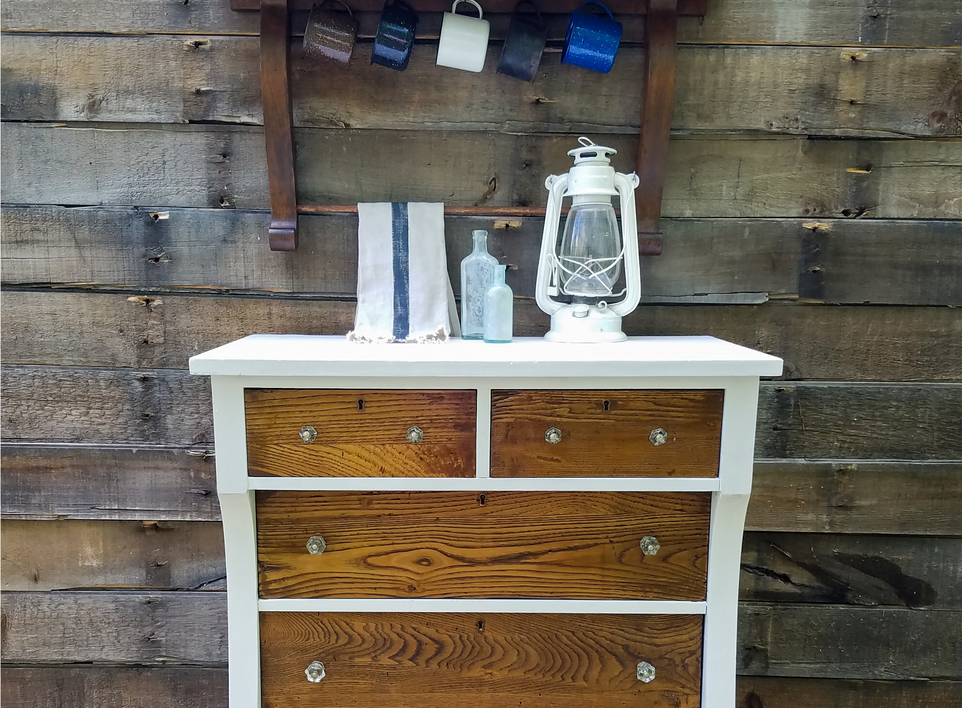 Featured Antique Empire Chest Refreshed by Prodigal Pieces | prodigalpieces.com
