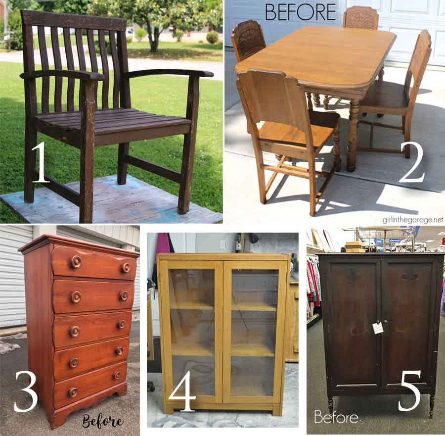 Furniture Fixer Uppers May 2017 | prodigalpieces.com