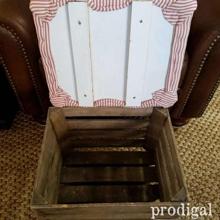 Inside Crate Ottoman by Prodigal Pieces | prodigalpieces.com