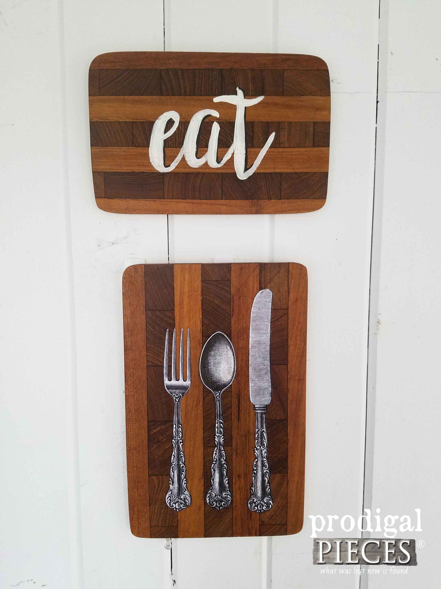 Cutting Board Kitchen Art by Prodigal Pieces | prodigalpieces.com