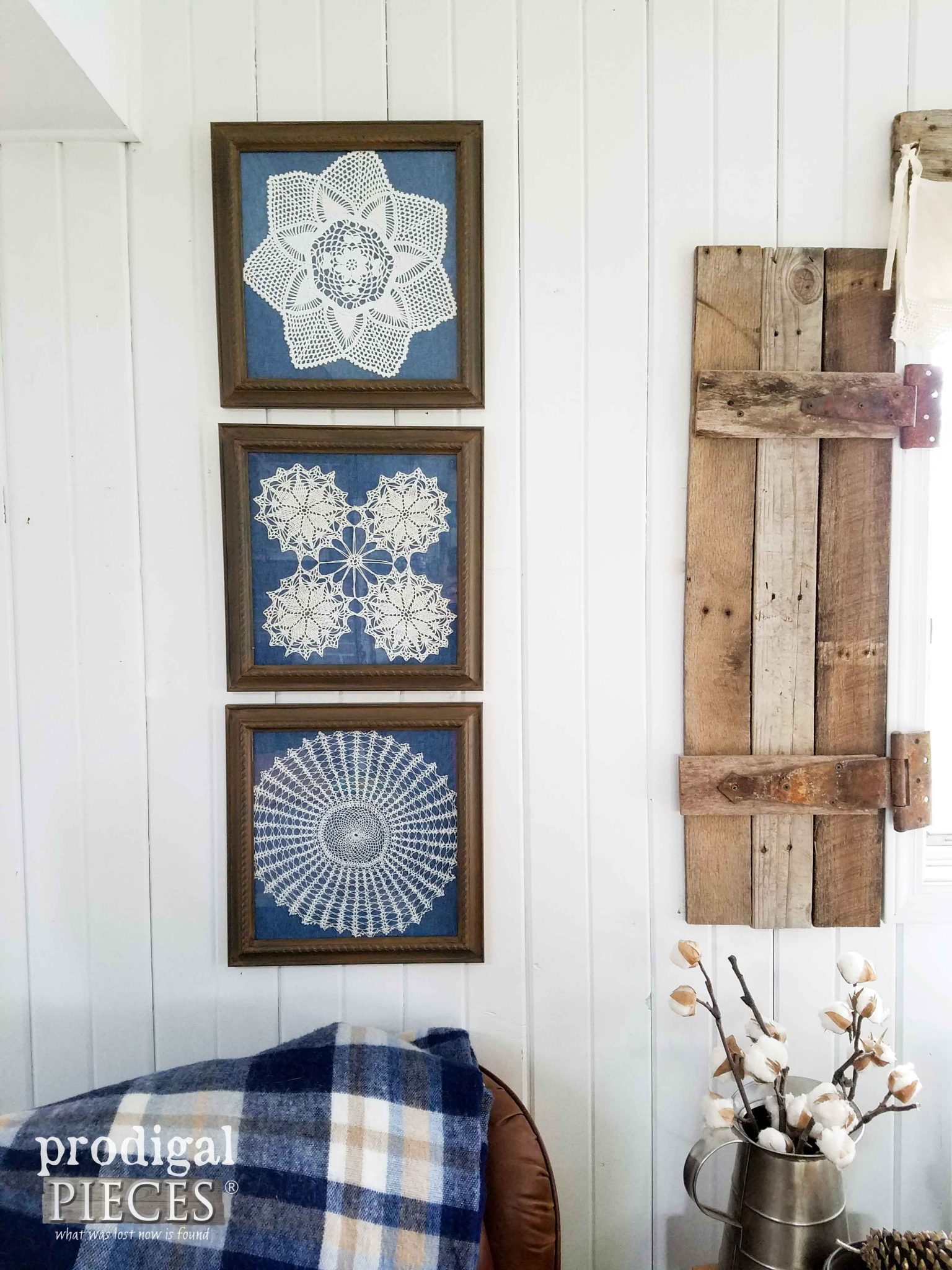 Vintage Doily Art by Prodigal Pieces | prodigalpieces.com