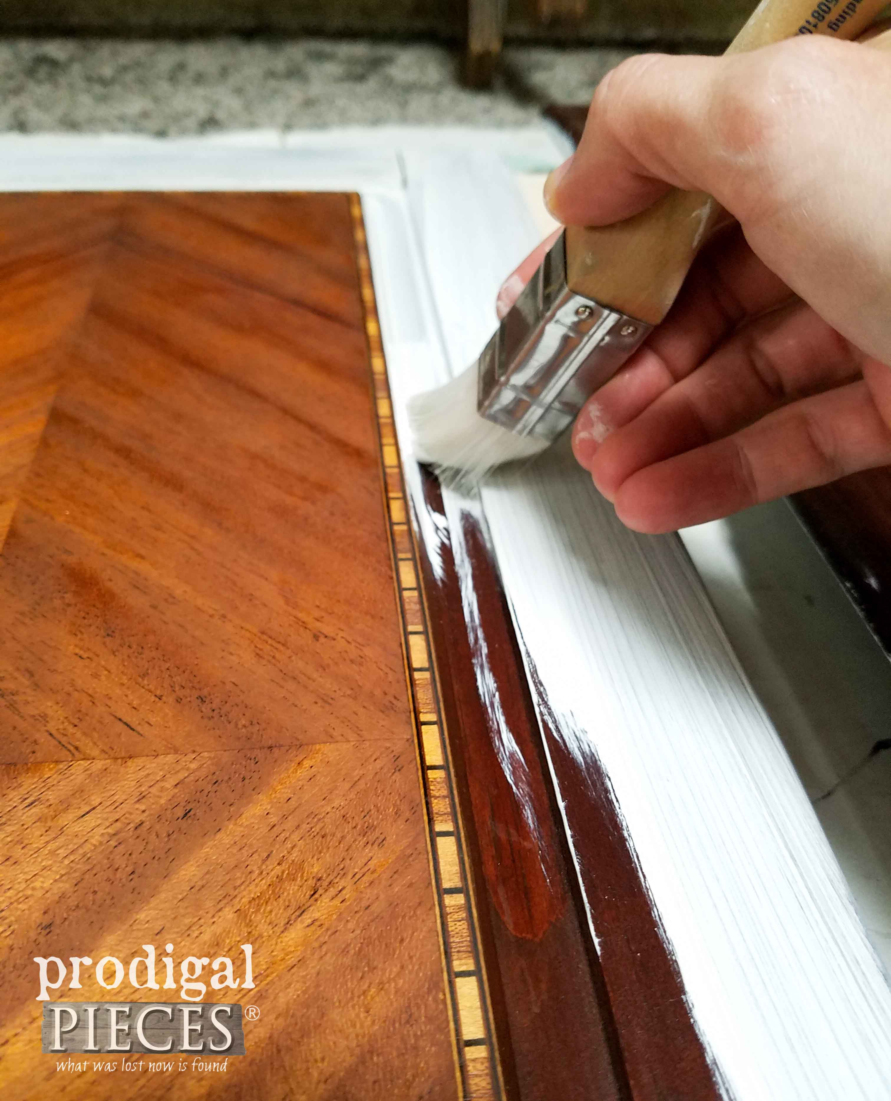 Square Zibra Paint Brush for Straight Lines by Prodigal Pieces | prodigalpieces.com