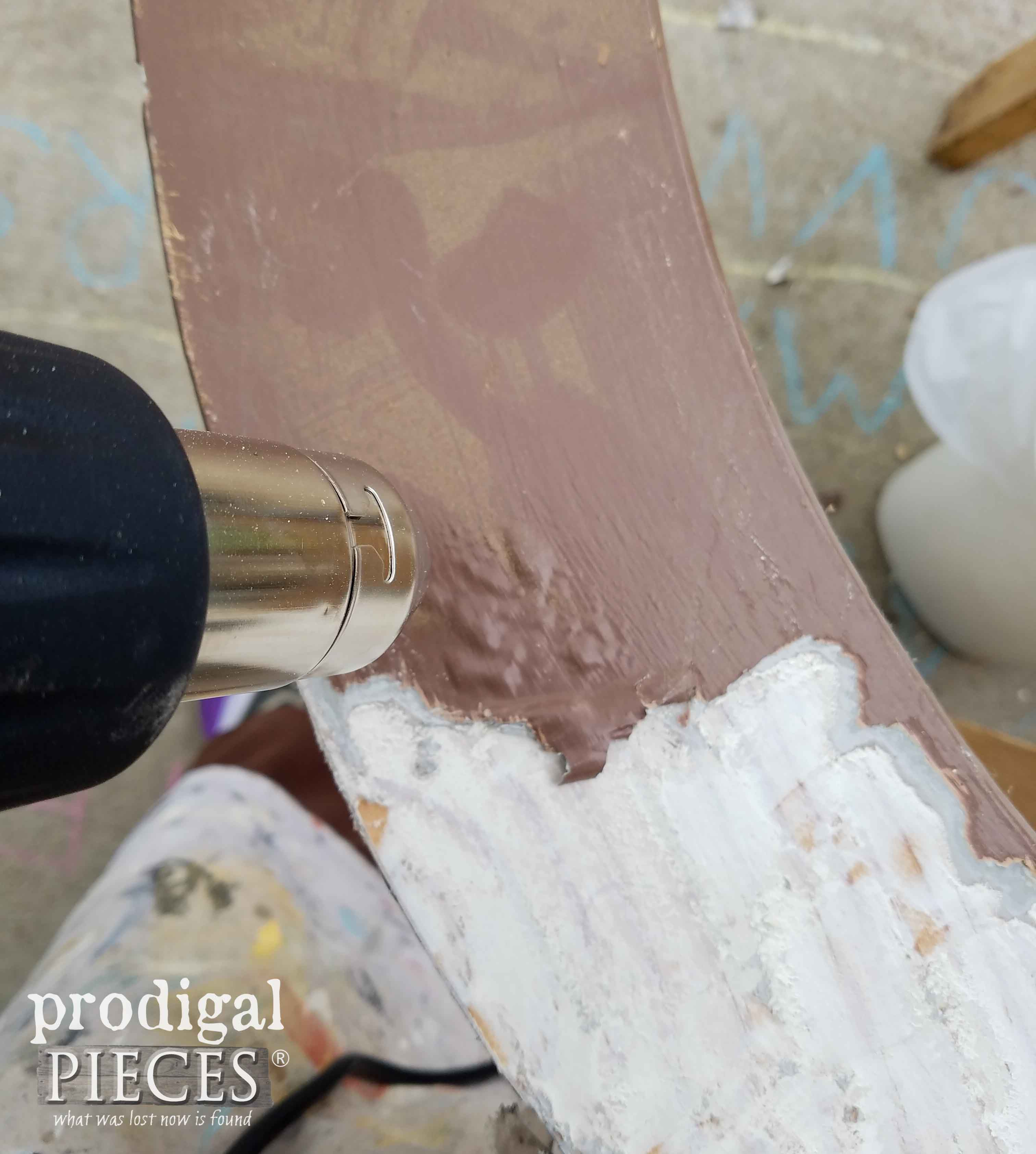 Bubbling Paint Using the HomeRight Digital Heat Gun by Prodigal Pieces | prodigalpieces.com
