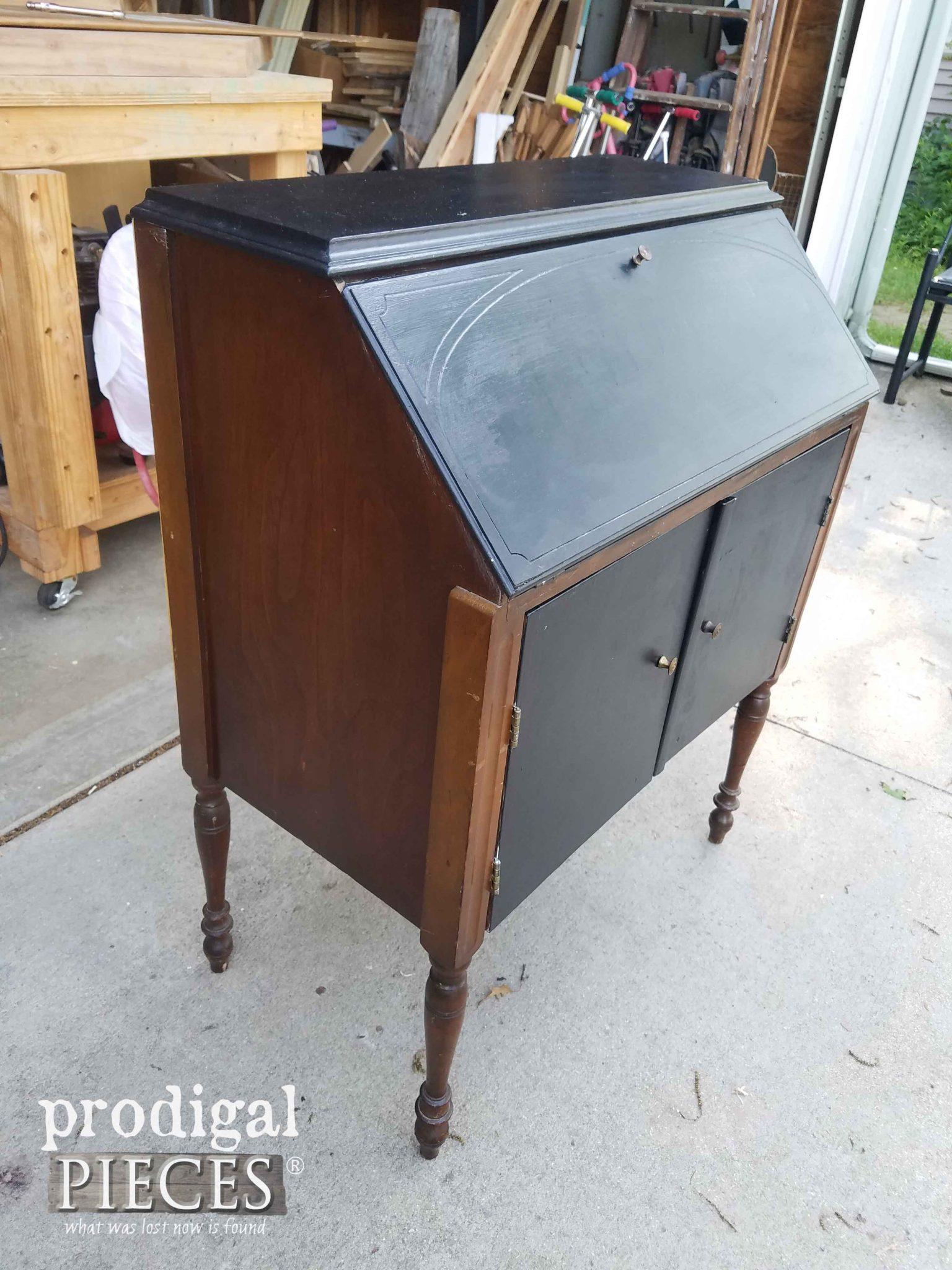 table secretary mahogany item treasure full island vintage maddox r desk