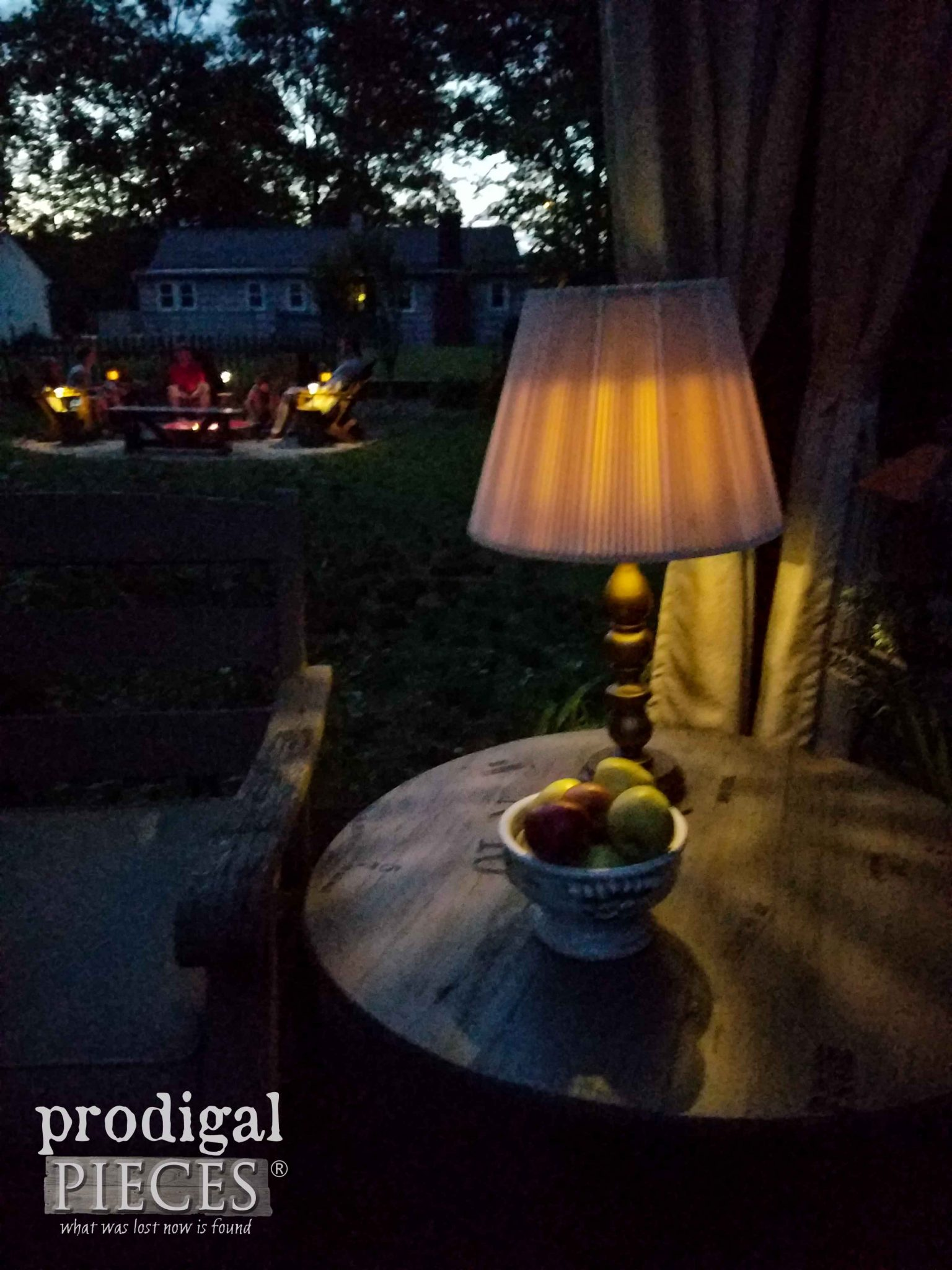 DIY Solar Powered Lamp Tutorial by Prodigal Pieces | prodigalpieces.com