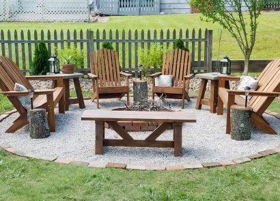 Featured DIY Fire Pit by Prodigal Pieces | prodigalpieces.com
