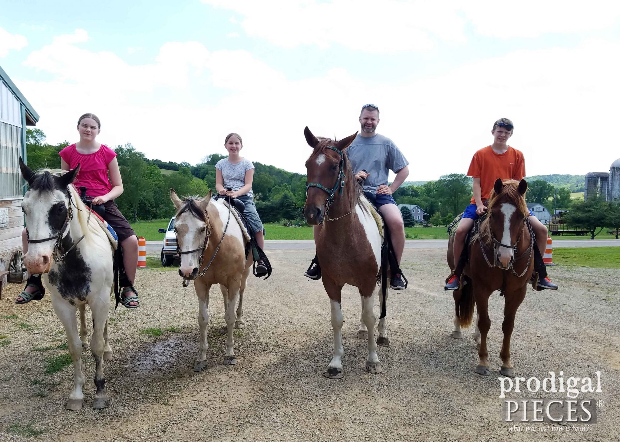 Horseback Riding with Family | prodigalpieces.com