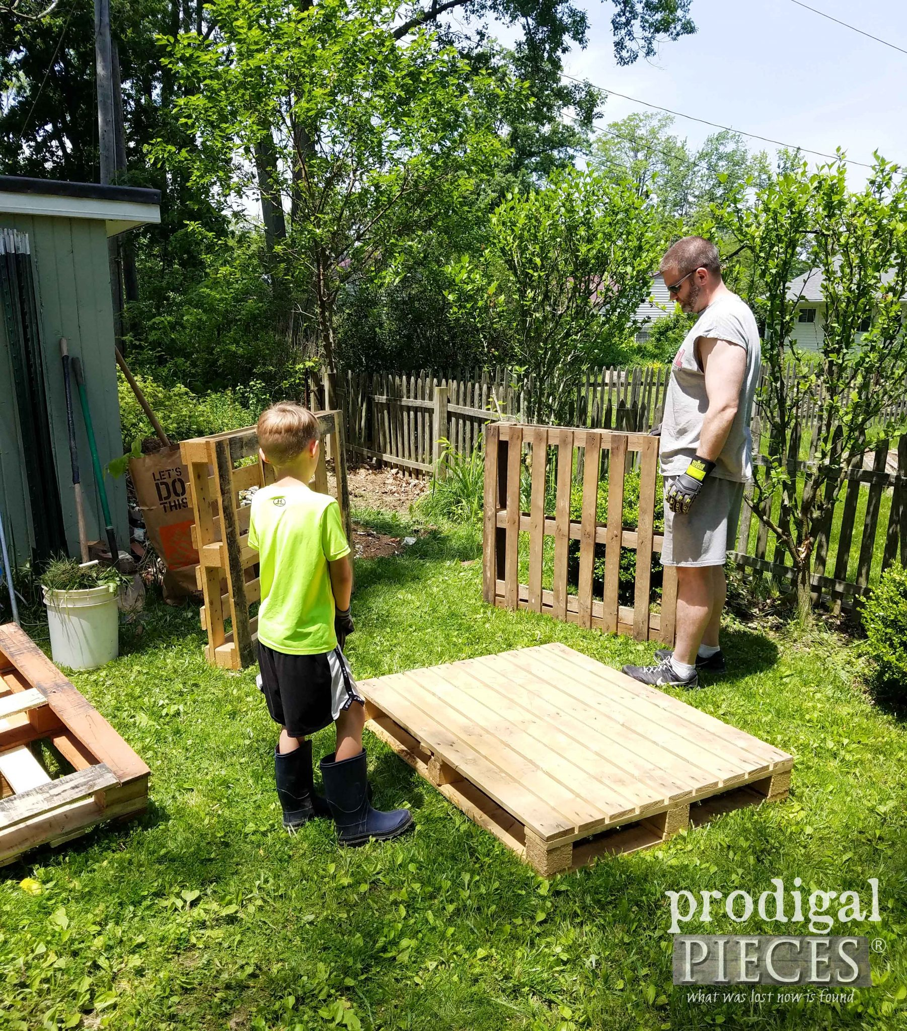 Pallets for Compost | prodigalpieces.com