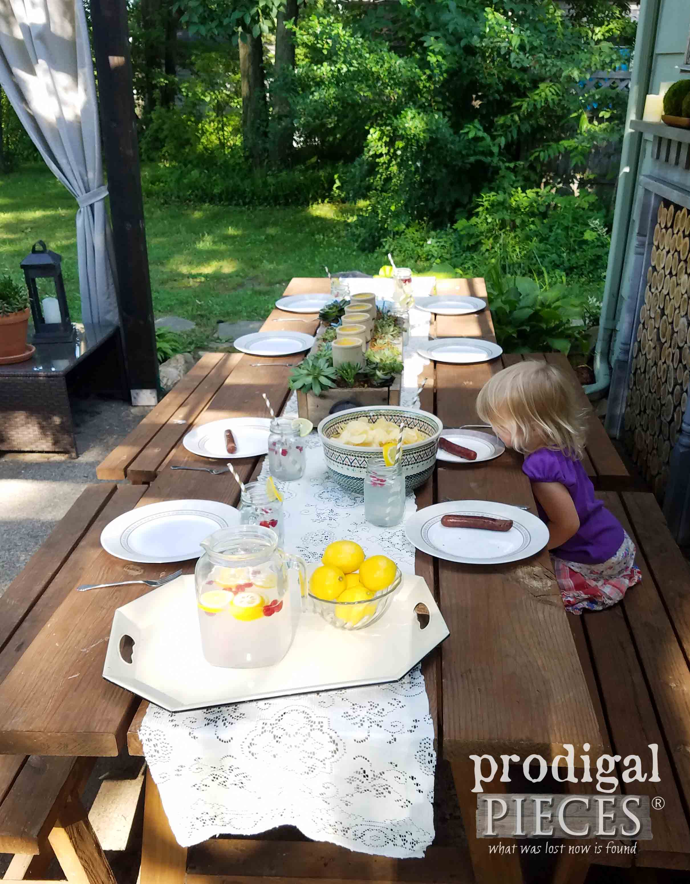 Toddler Ready to Eat Back Yard Picnic by Prodigal Pieces | prodigalpieces.com