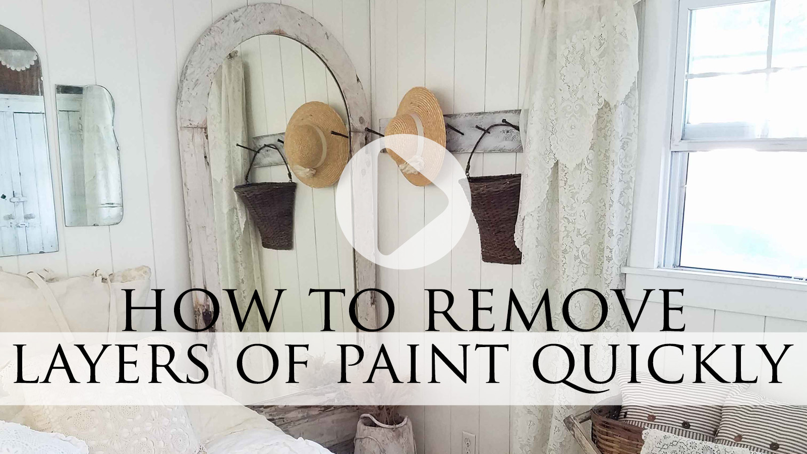 How to Remove Paint Layers Using a Heat Gun Video Tutorial by Larissa of Prodigal Pieces | prodigalpieces.com