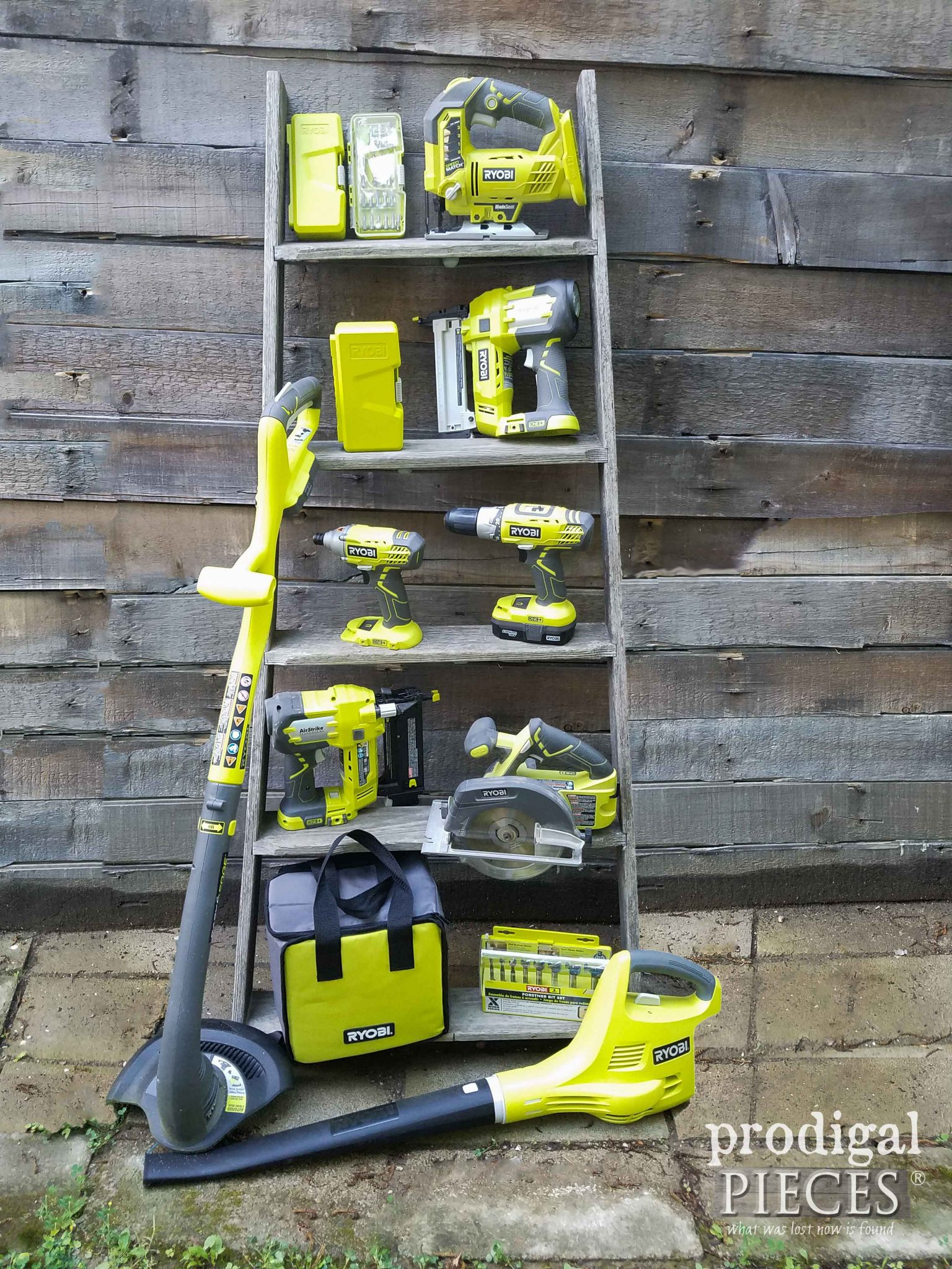 Collection of Ryobi ONE+ Tools for all you DIY needs | Prodigal Pieces | prodigalpieces.com