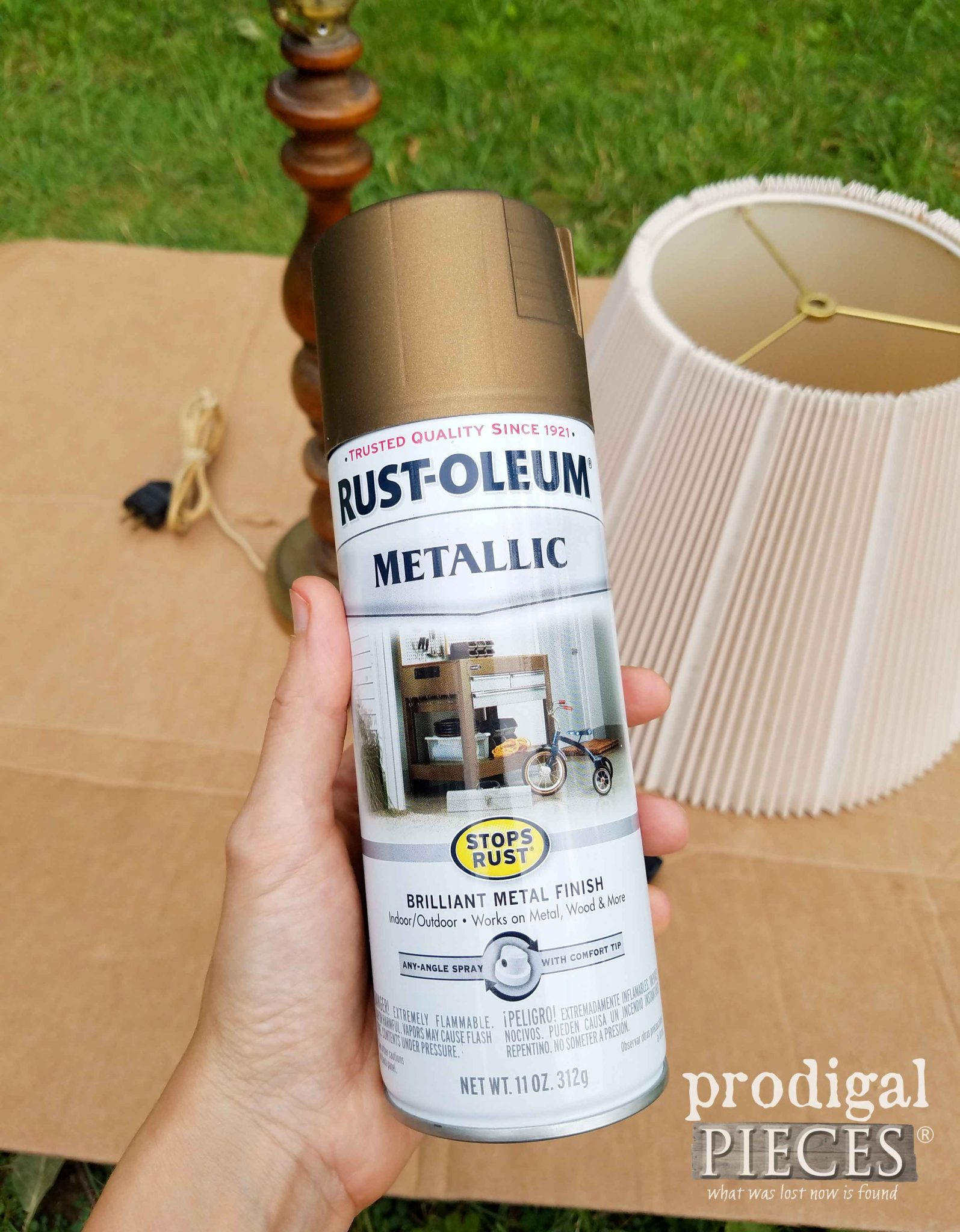 Antique Brass Paint by RustOleum | prodigalpieces.com
