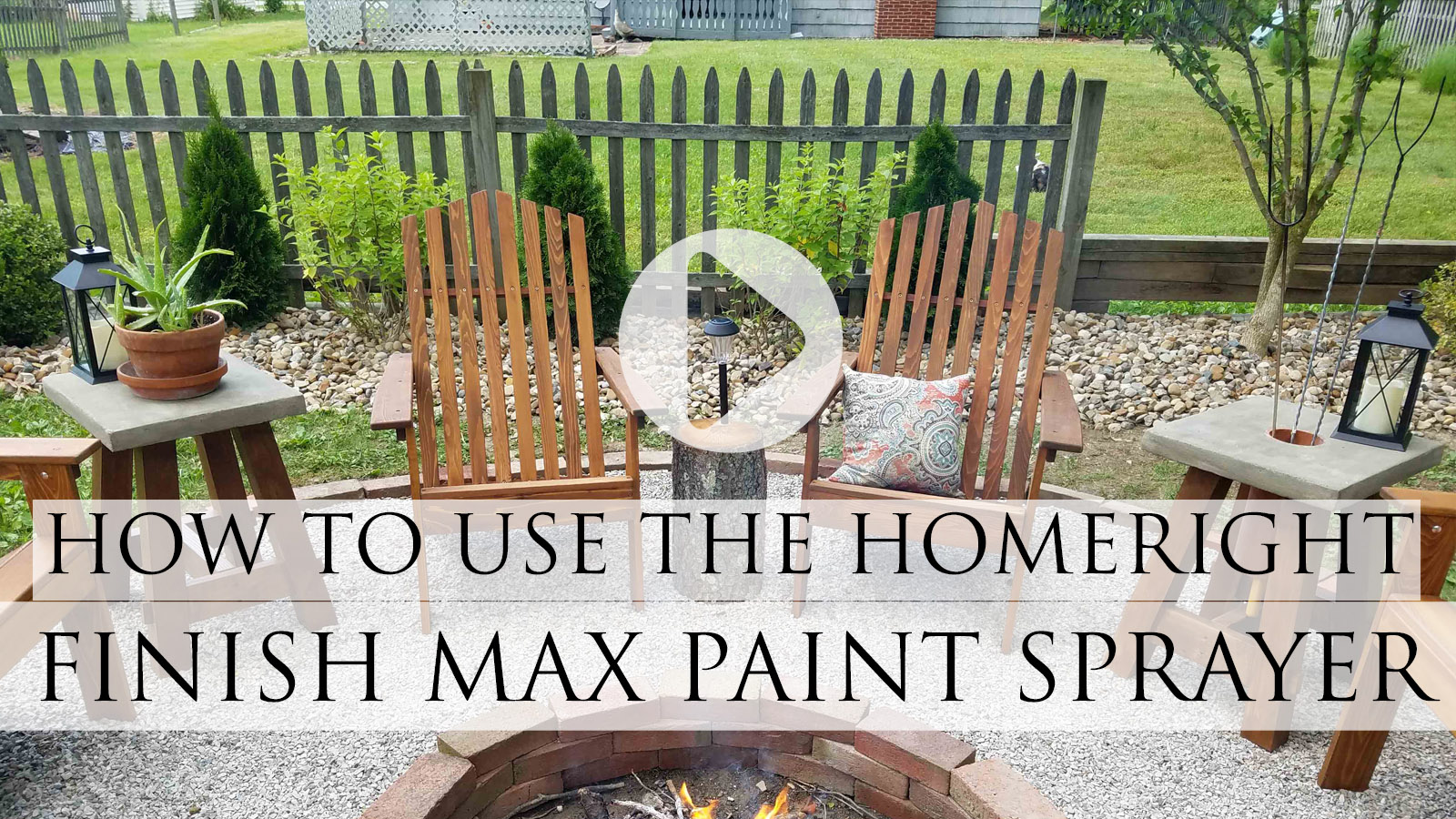 How to Use the HomeRight Super Finish Max Sprayer for Home and More by Larissa of Prodigal Pieces | prodigalpieces.com