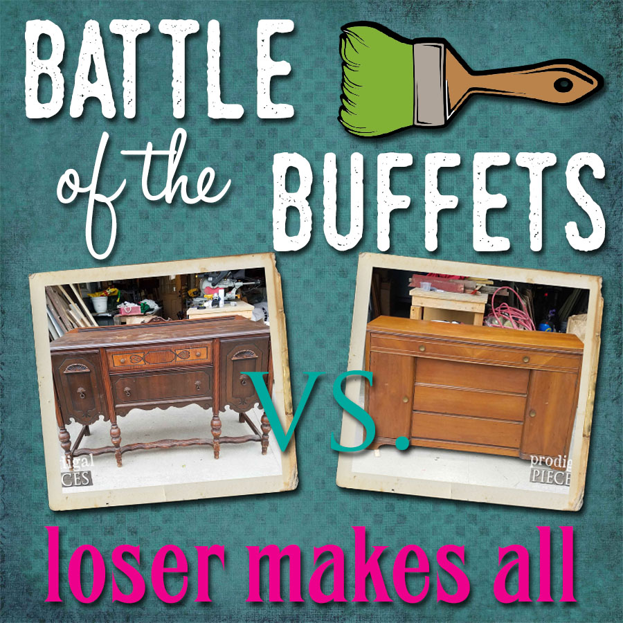Battle of the Buffets by Prodigal Pieces | prodigalpieces.com