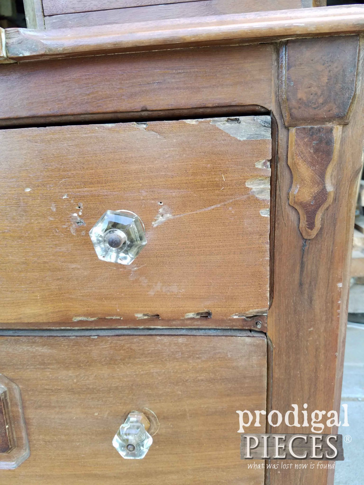 Damaged Chest Drawers | prodigalpieces.com
