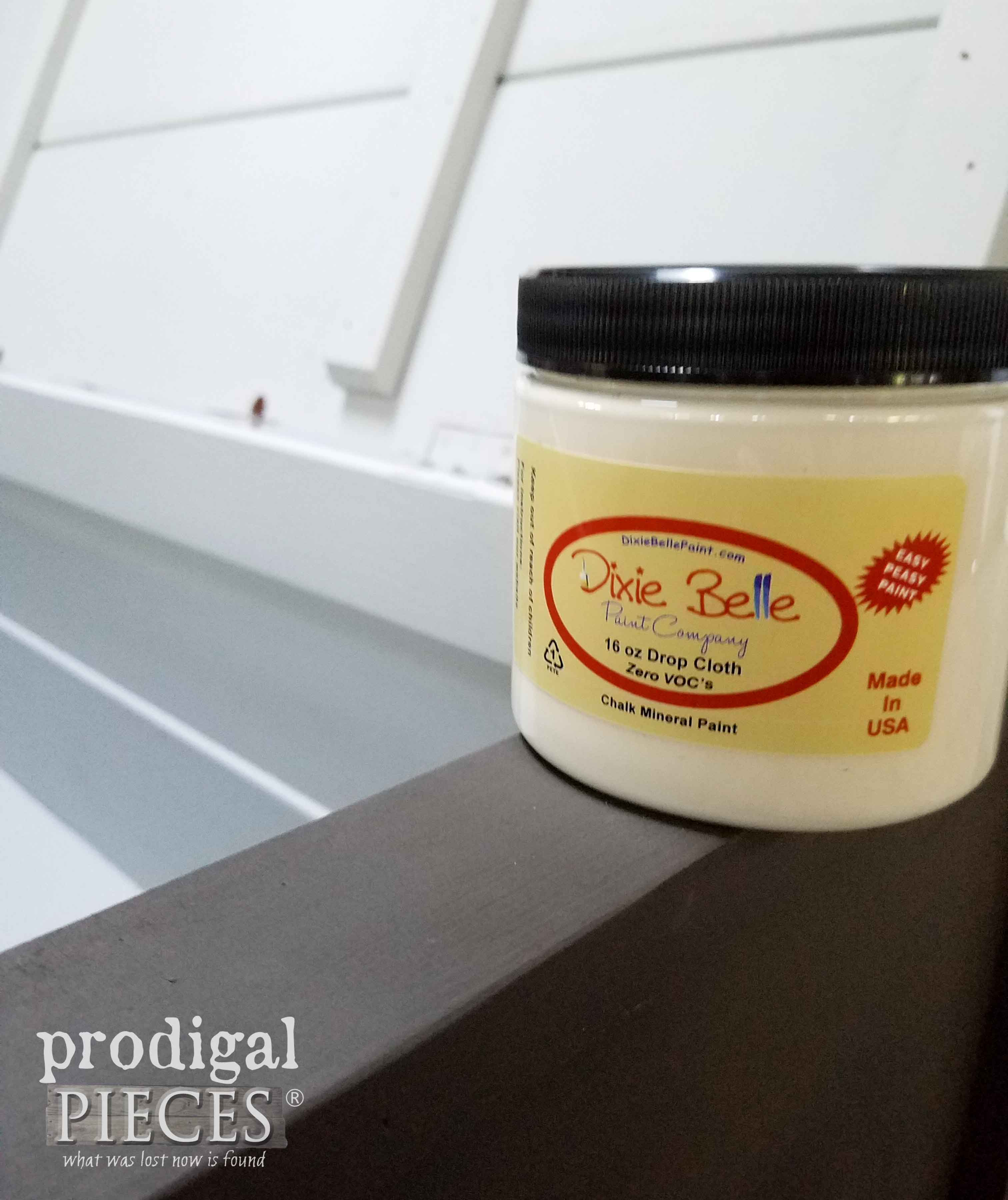 Dixie Belle Paint in Drop Cloth via Prodigal Pieces | prodigalpieces.com