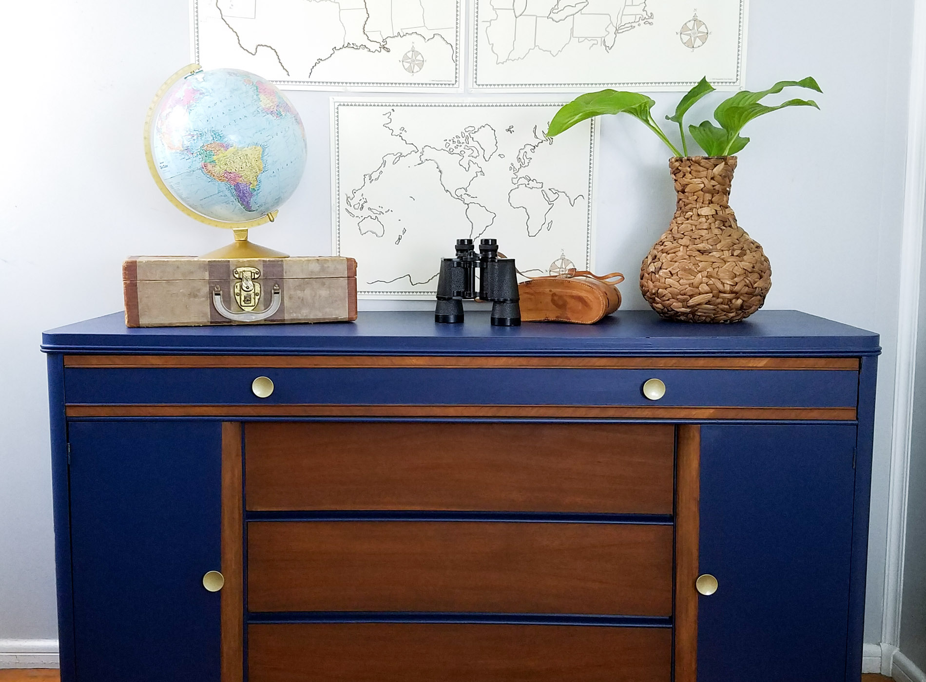 Featured Art Deco Buffet Revived by Prodigal Pieces | prodigalpieces.com