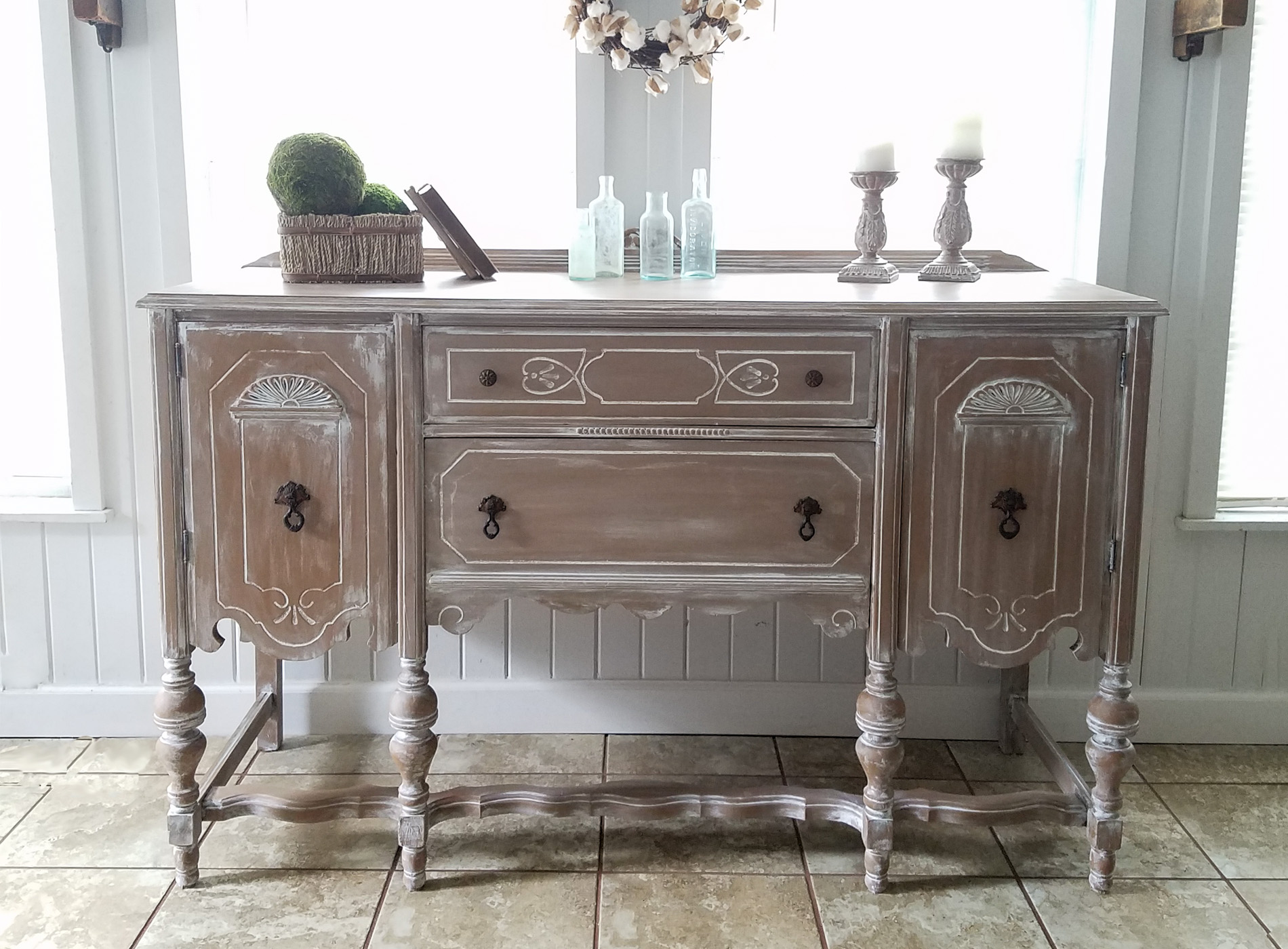 Featured Buffet Makeover by Prodigal Pieces | prodigalpieces.com