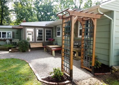 Featured DIY Garden Arbor with Build Plans by Prodigal Pieces | prodigalpieces.com