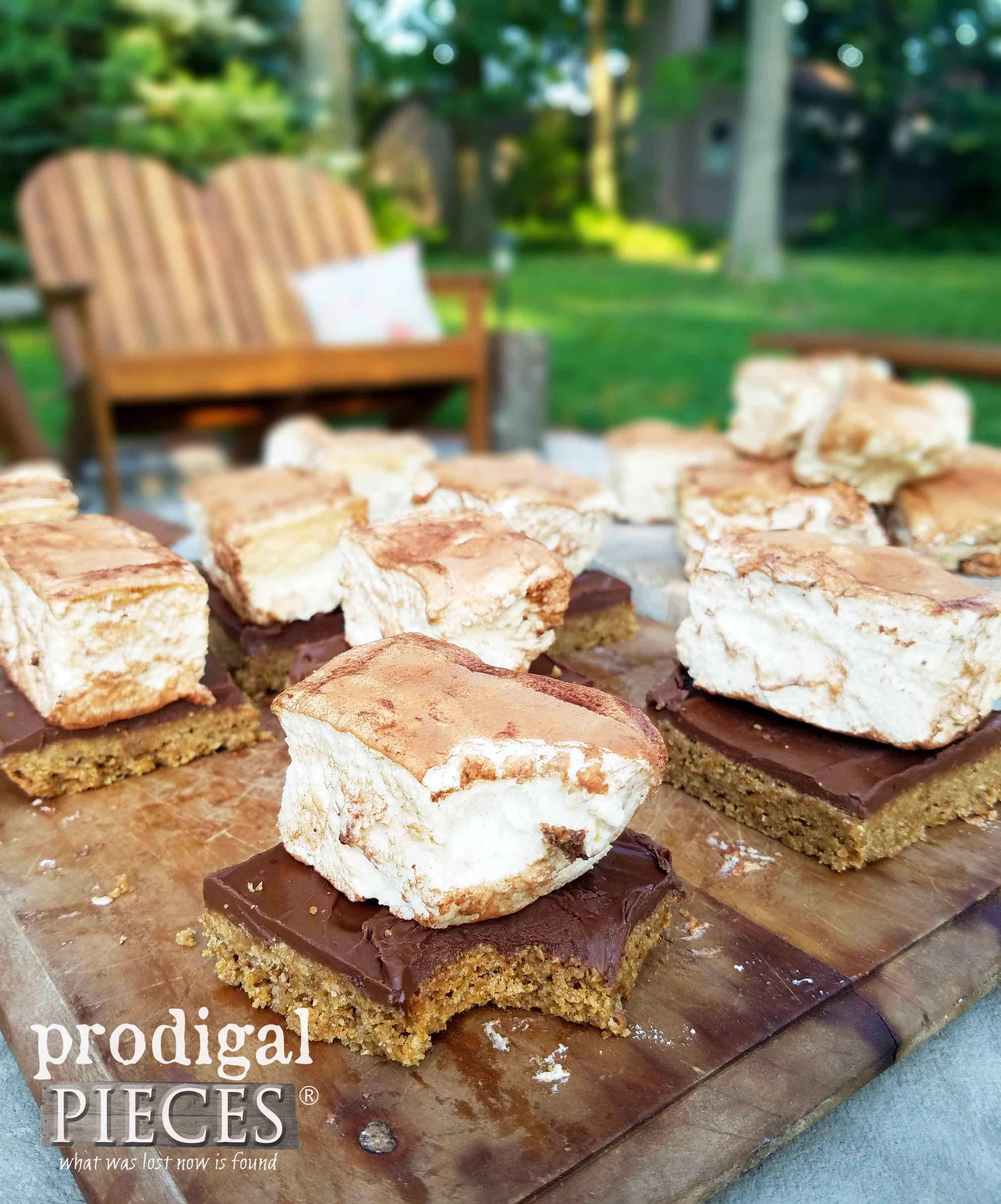 Homemade S'Mores for a Summertime Treat, and they're grain-free! Recipe by Prodigal Pieces | prodigalpieces.com