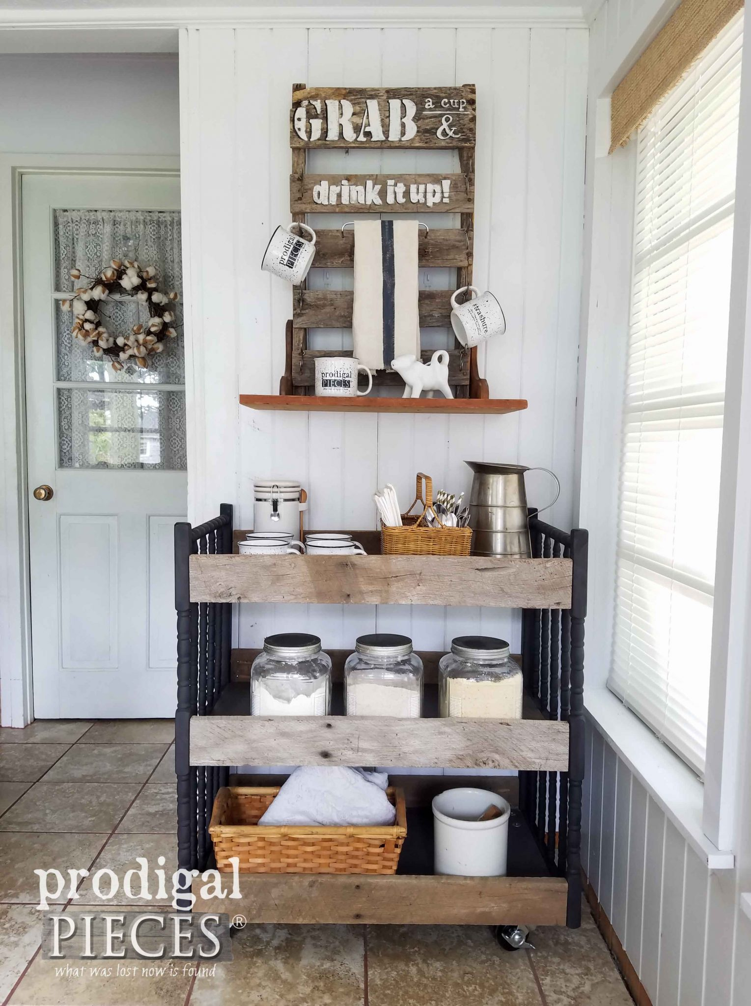Repurposed Changing Table Cart Use For Most Any Room Of The House By  Prodigal Pieces |