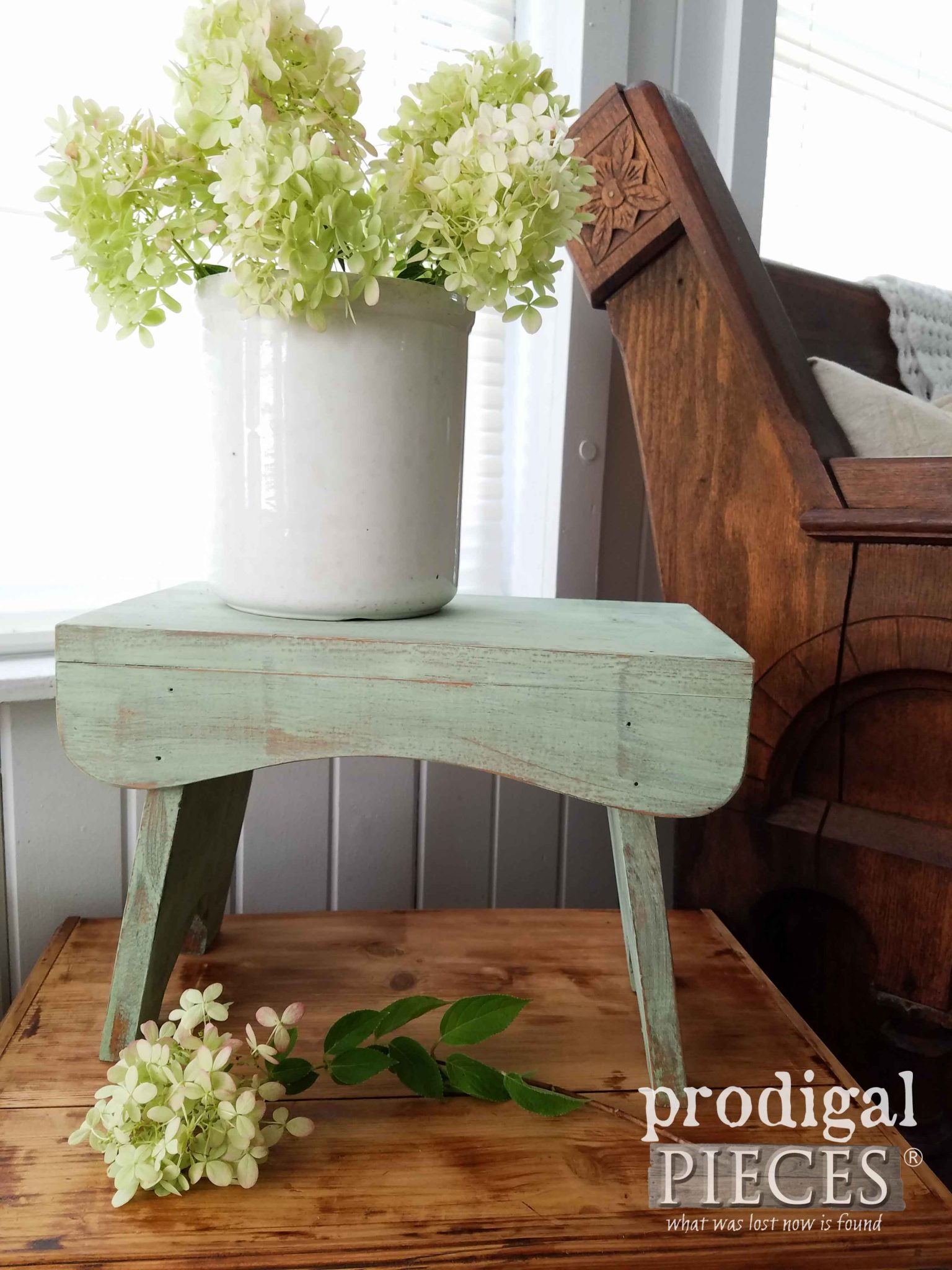 Farmhouse Milking Stool by Prodigal Pieces | prodigalpieces.com