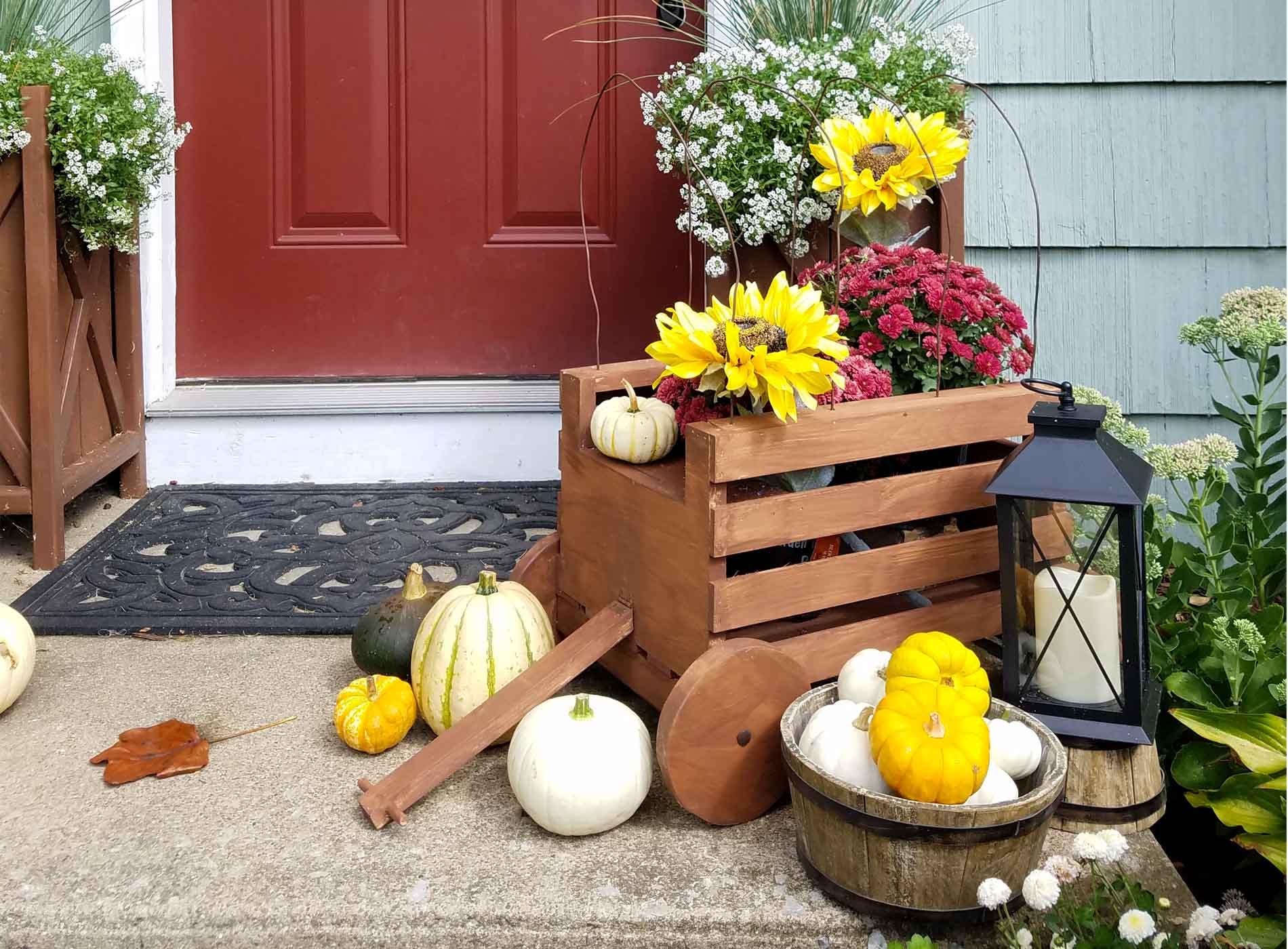 Diy Crate Wagon Planter Display Fun Prodigal Pieces