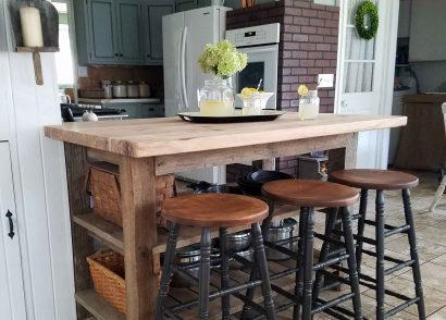 Featured Farmhouse Bar Stools by Prodigal Pieces | prodigalpieces.com