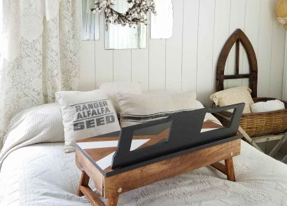 Featured DIY Repurposed Lap Desk by Prodigal Pieces | prodigalpieces.com