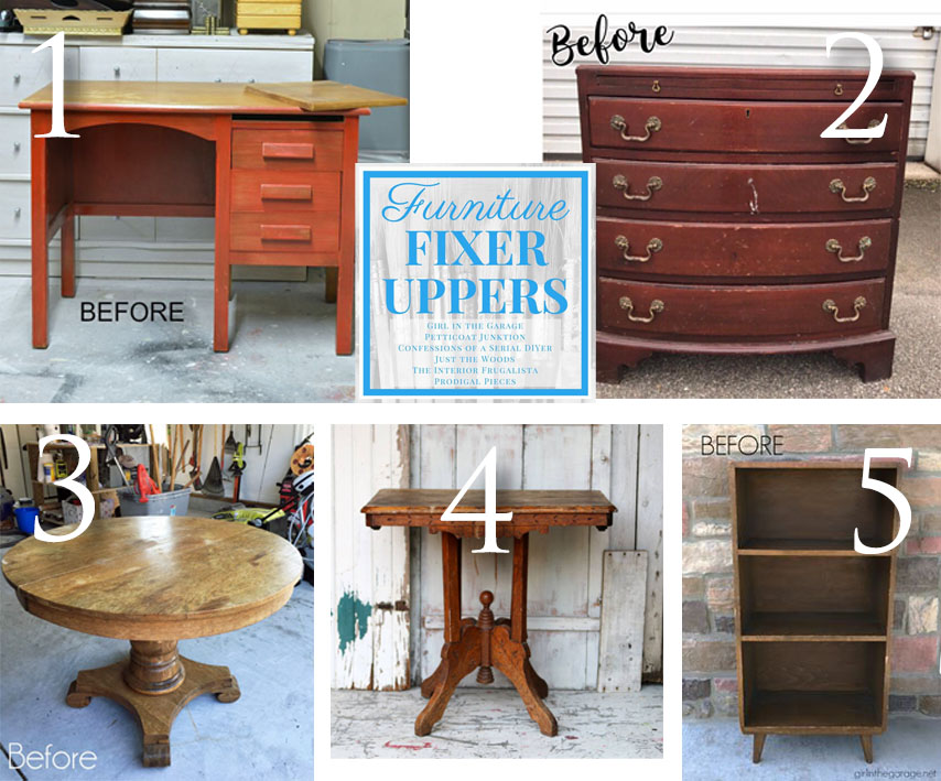 d45a2ef736d6 Furniture Fixer Uppers August 2017 via Prodigal Pieces