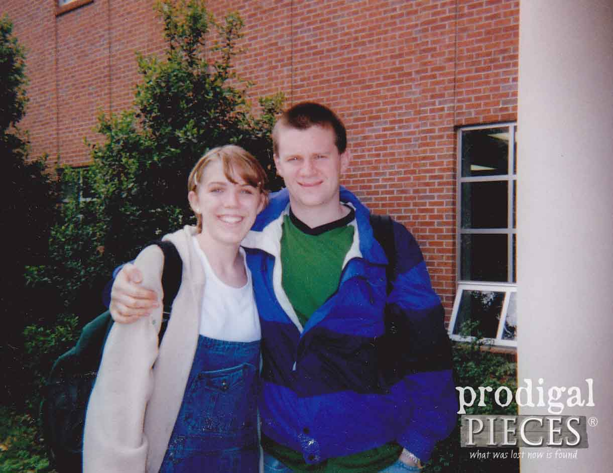 JC and Larissa Haynes in College | Prodigal Pieces | prodigalpieces.com