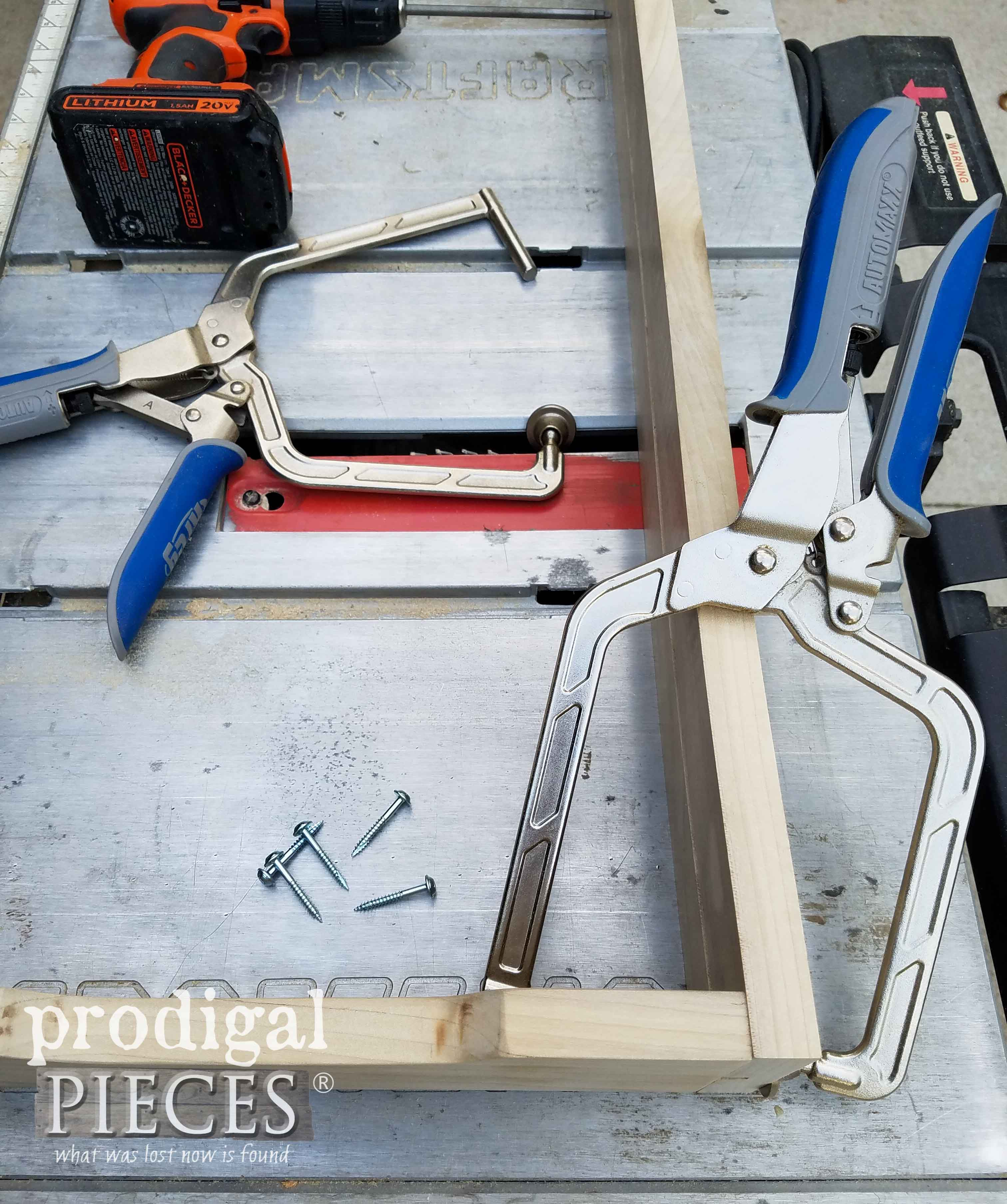 Kreg Jig Clamps for Assembly | prodigalpieces.com