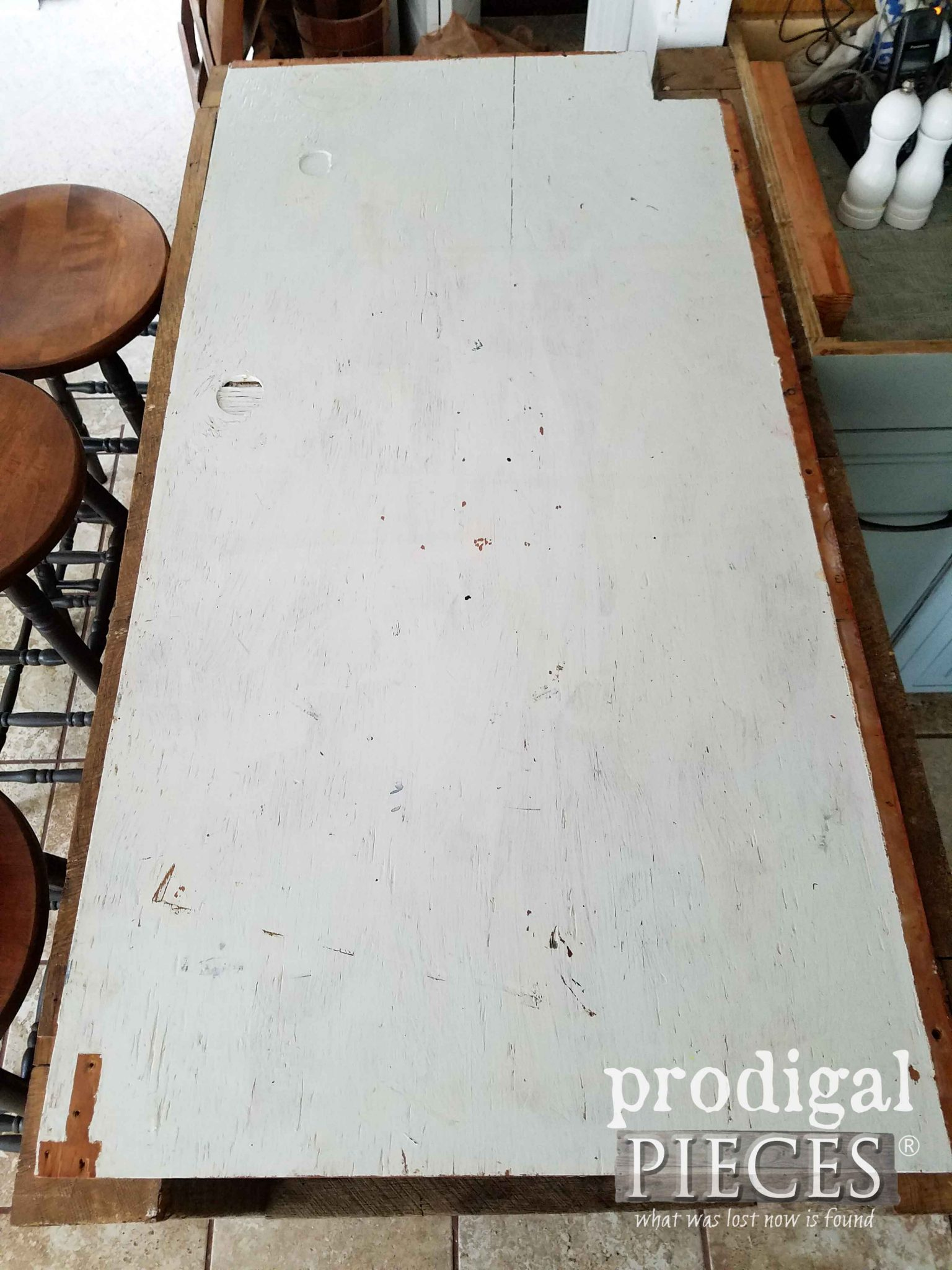 Make-do Plywood countertop | prodigalpieces.com