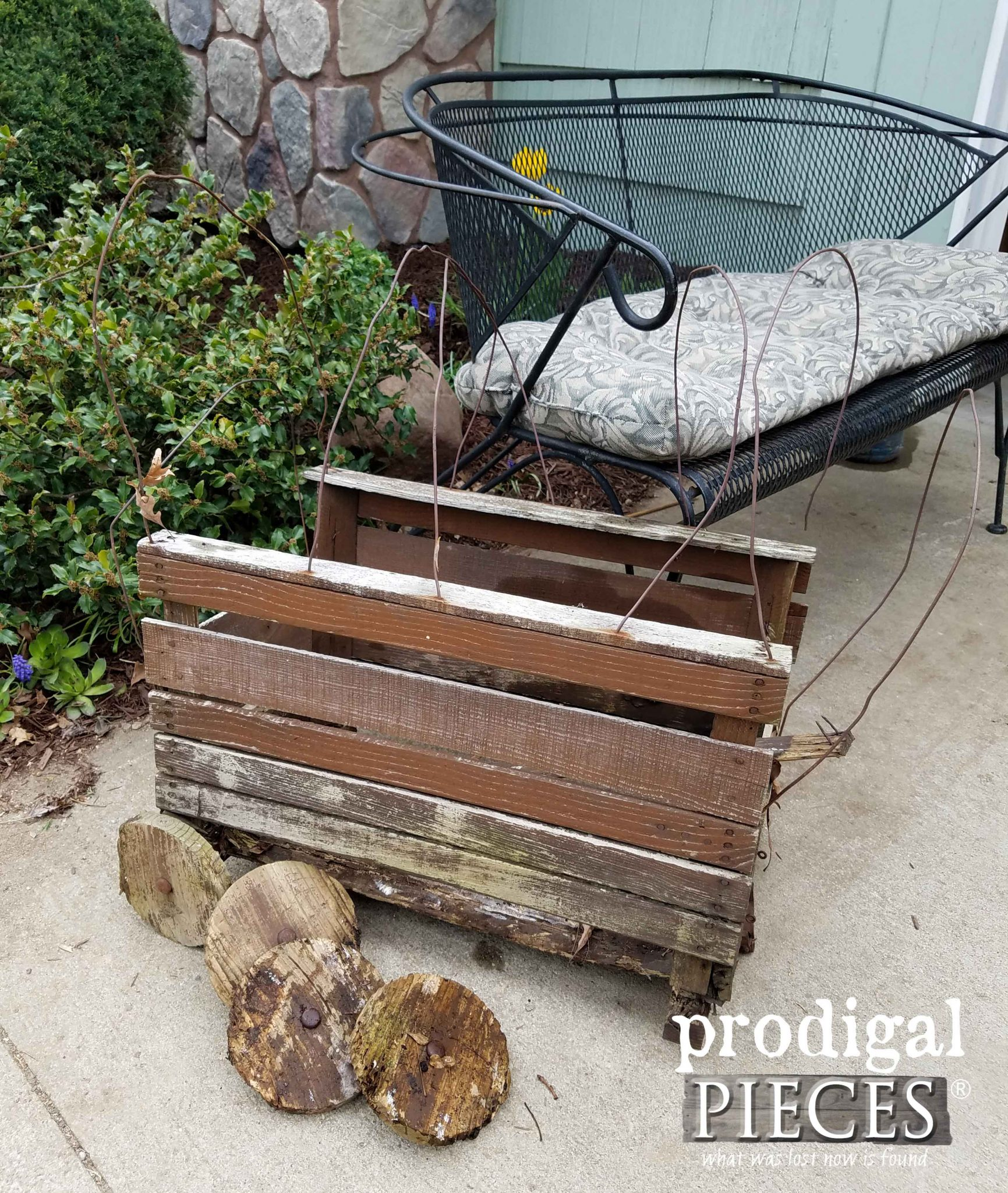 Busted Up Wooden Wagon as Inspiration | Prodigal Pieces | prodigalpieces.com