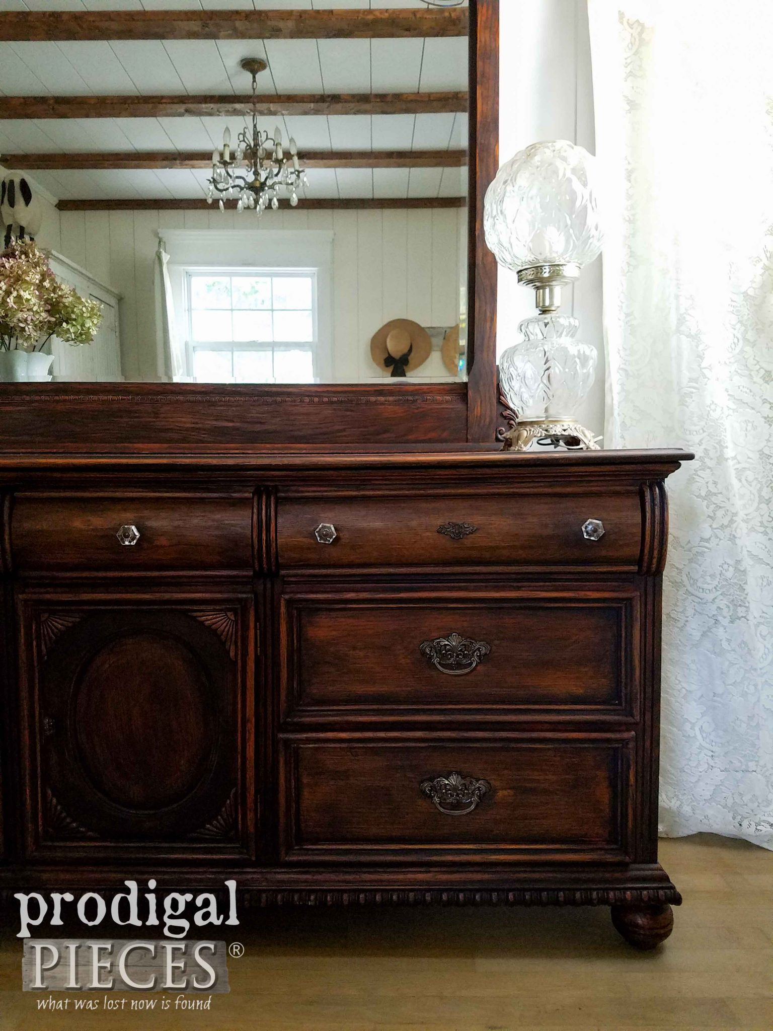 Black Washed Lexington Dresser by Prodigal Pieces | prodigalpieces.com