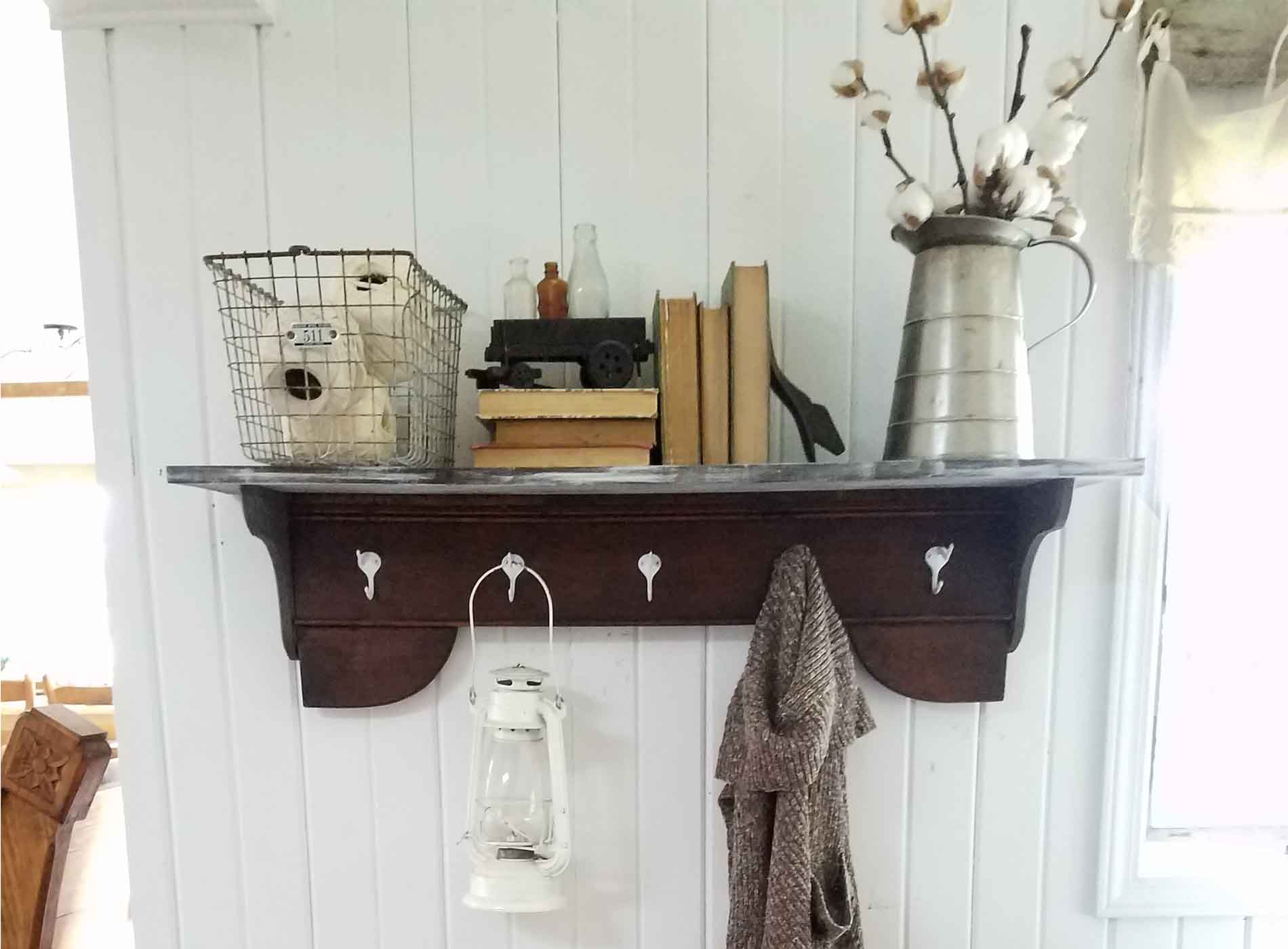 Featured Repurposed Coat Rack by Prodigal Pieces | prodigalpieces.com