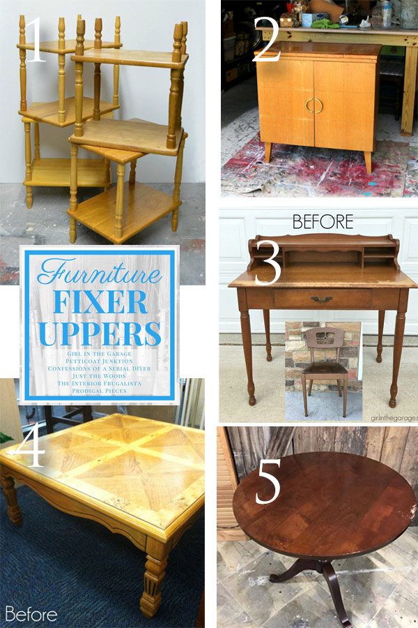 Furniture Fixer Uppers September 2017 | prodigalpieces.com