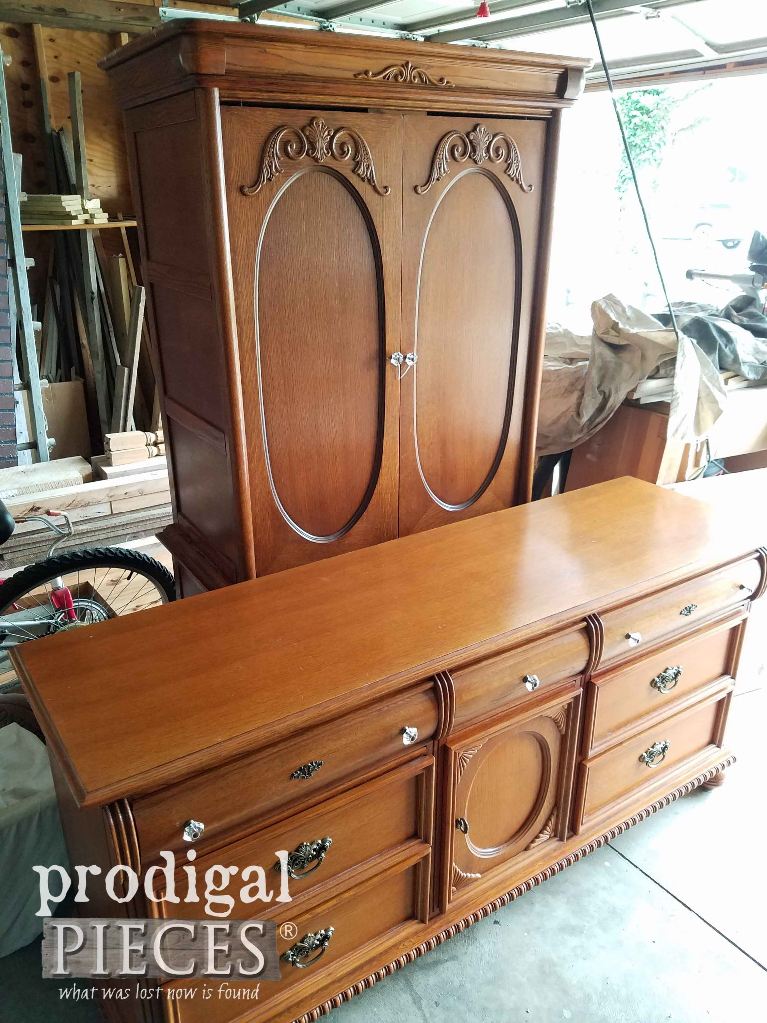 Vintage Lexington Bedroom Set by Prodigal Pieces | prodigalpieces.com