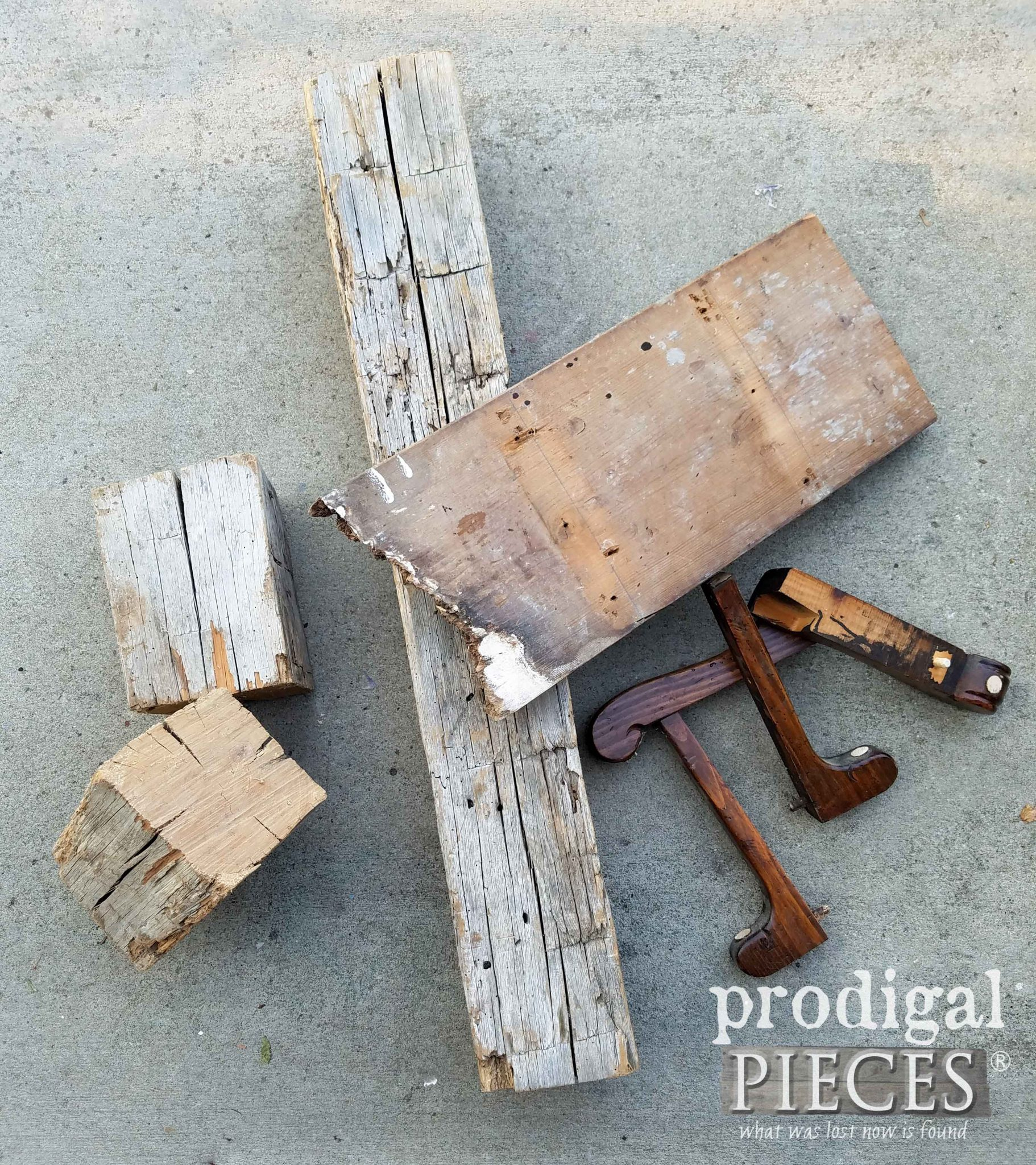 Reclaimed Wood Pile at Prodigal Pieces | prodigalpieces.com