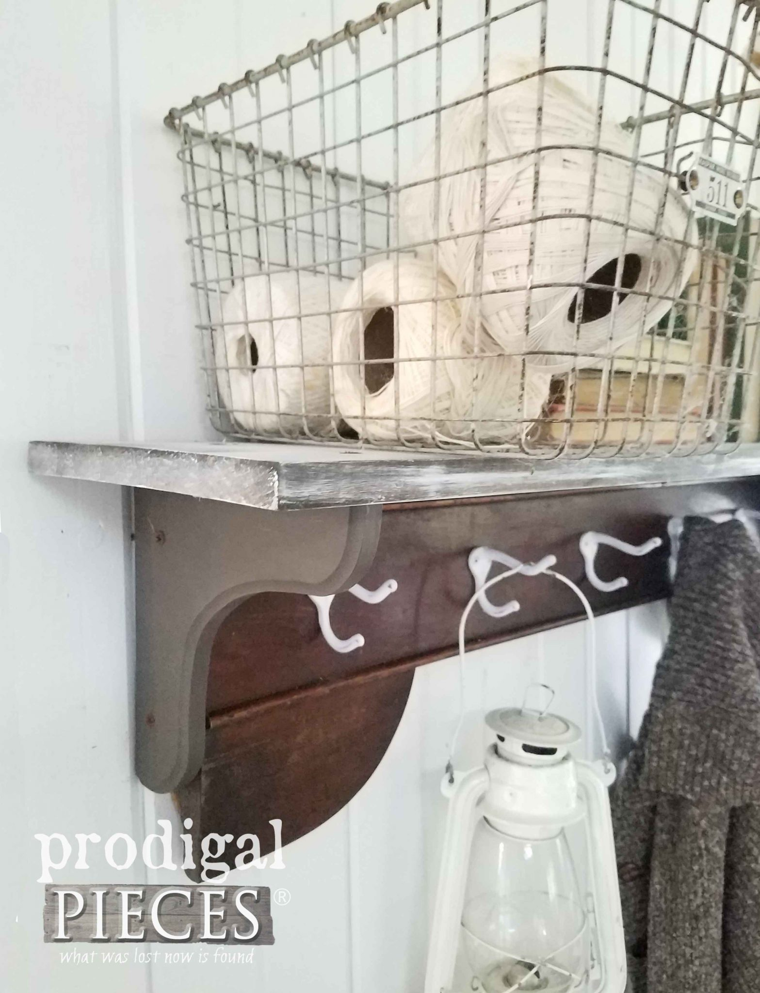 DIY Coat Rack for Farmhouse Style Decor by Prodigal Pieces | prodigalpieces.com
