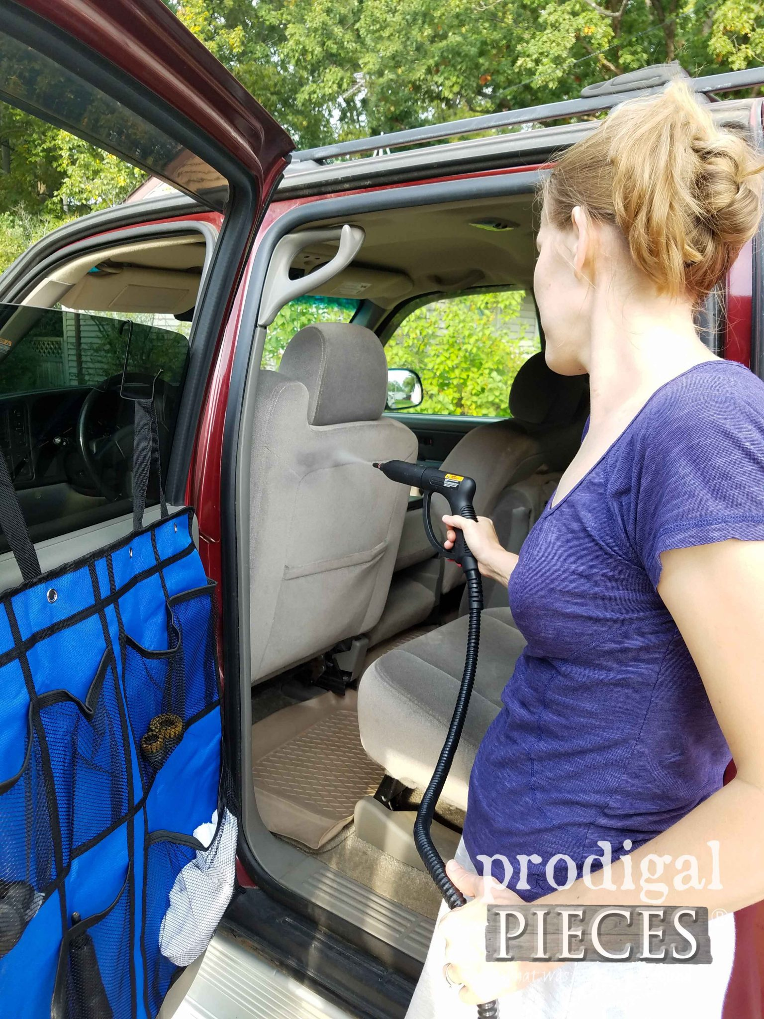 Steam Clean your Vehicle for a Chemical-Free Clean by Prodigal Pieces | prodigalpieces.com
